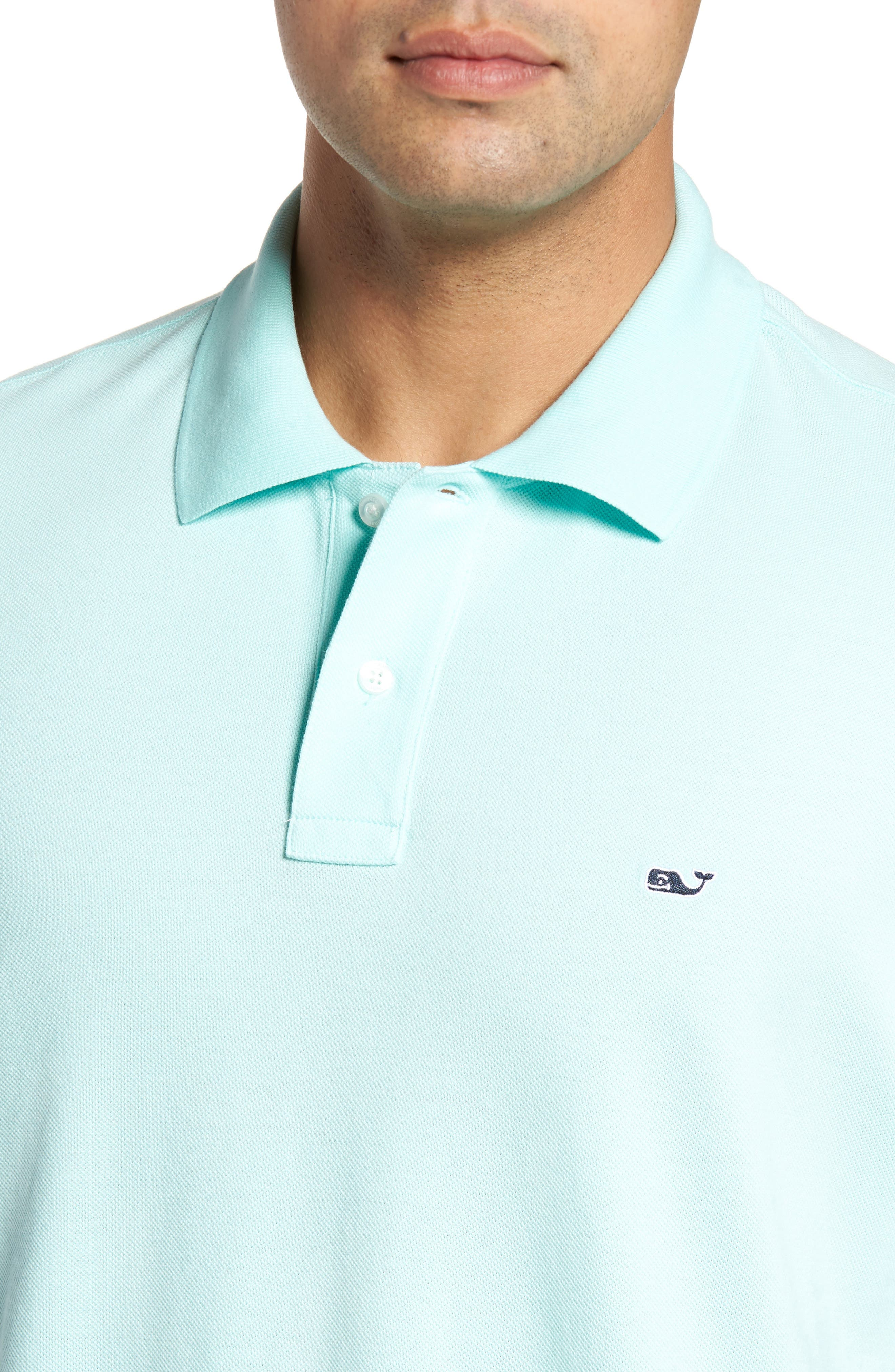 Classic Piqué Knit Polo,                             Alternate thumbnail 5, color,                             446