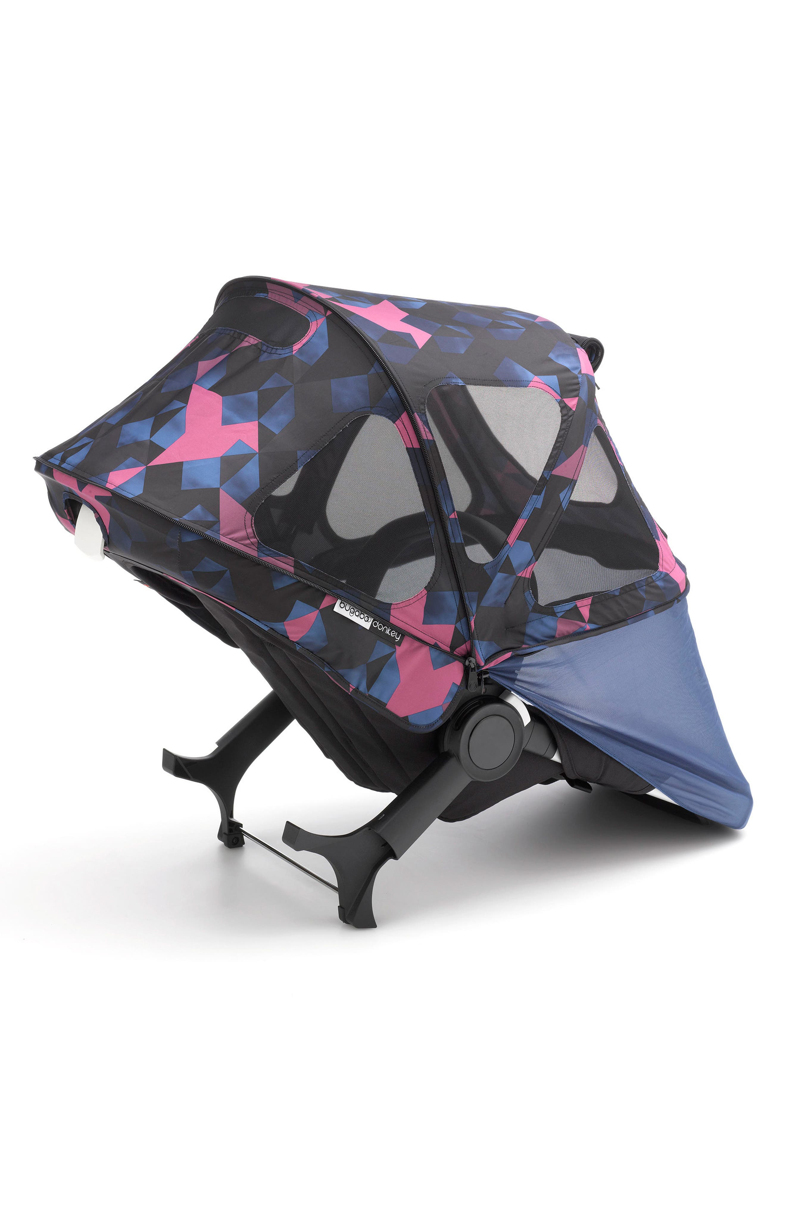 Breezy Birds Sun Canopy for Bugaboo Donkey Strollers,                             Main thumbnail 1, color,                             BIRDS PRINT