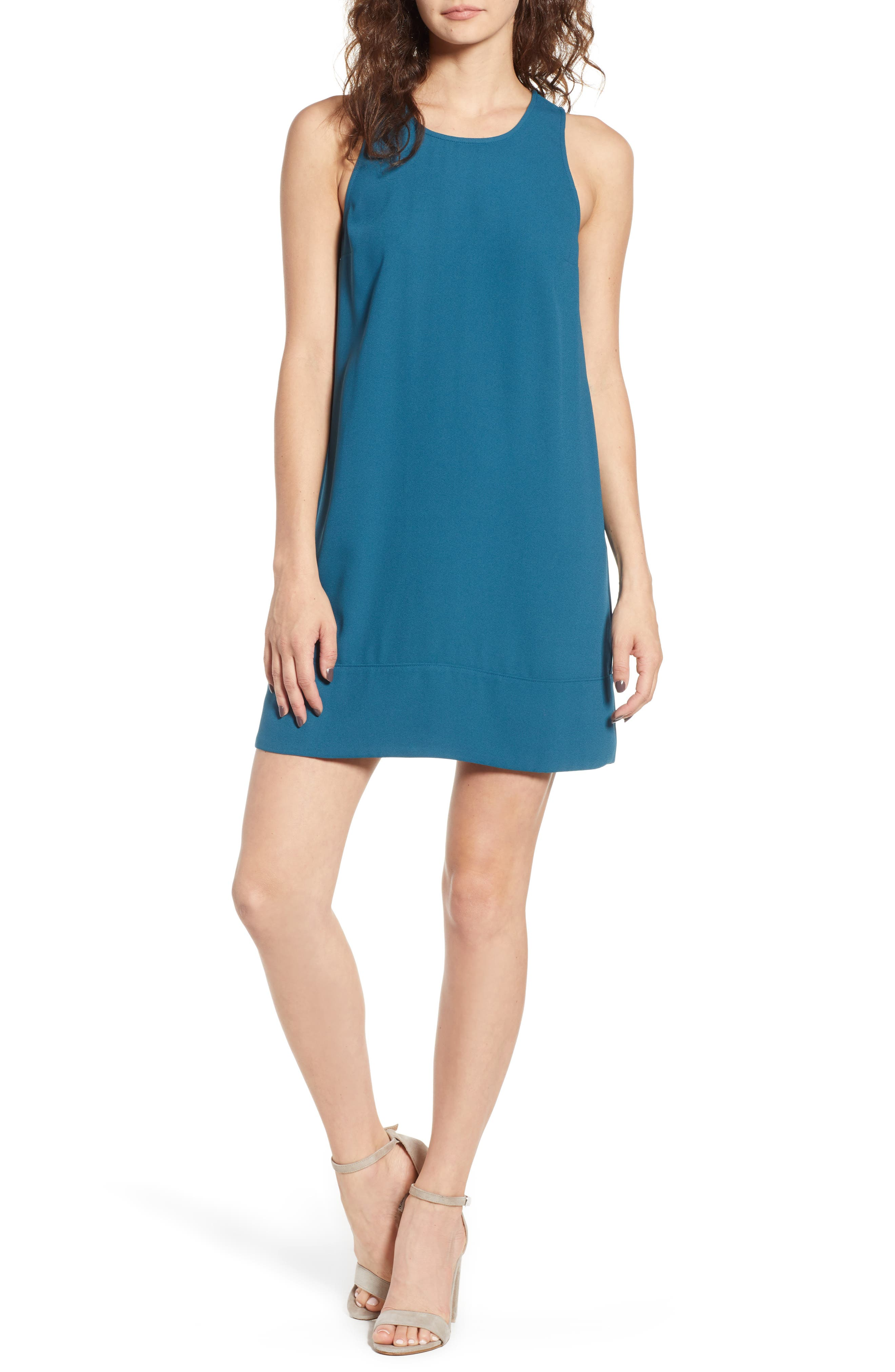 Racerback Shift Dress,                             Main thumbnail 14, color,