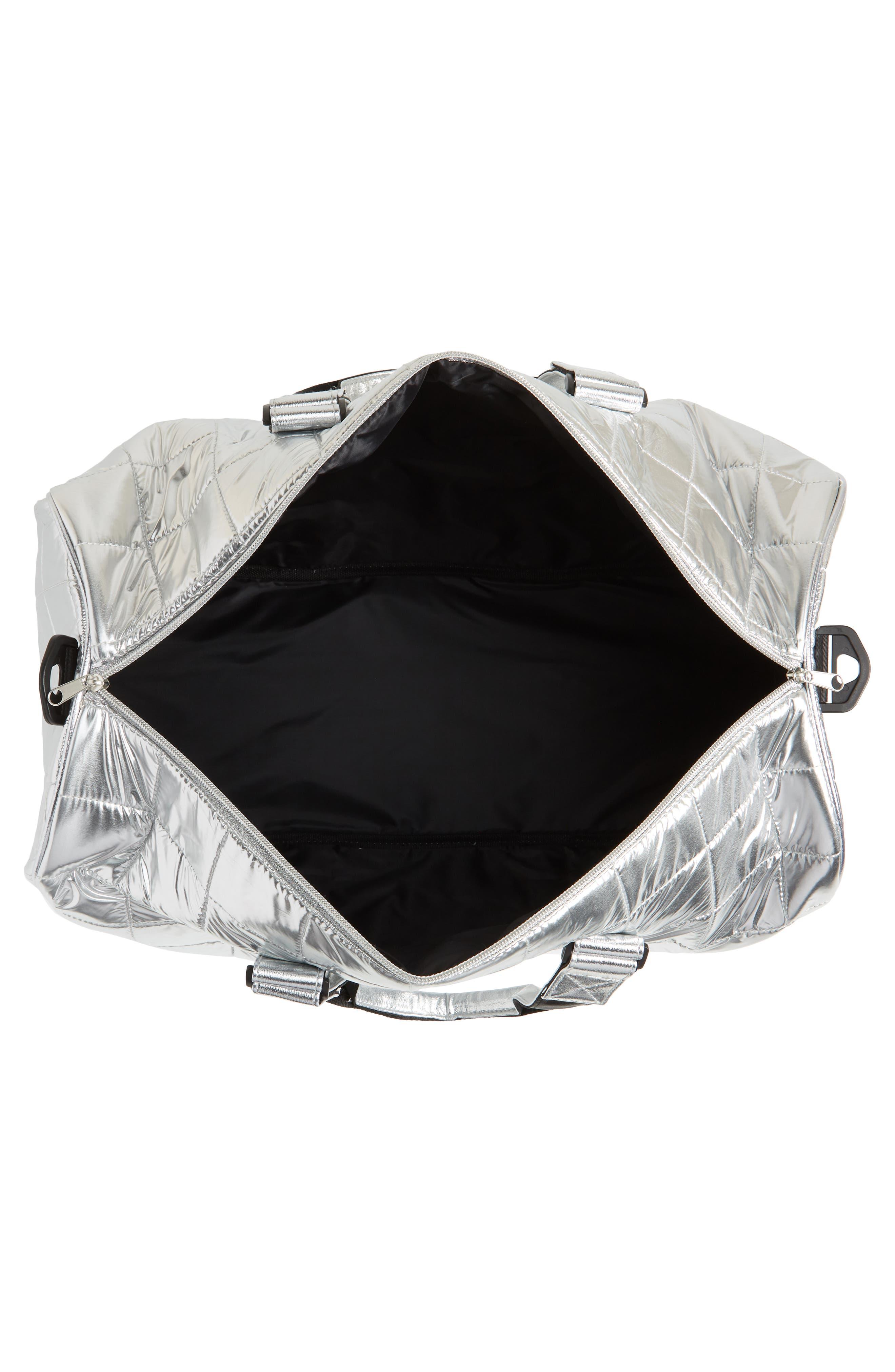 Puffer Duffel Bag,                             Alternate thumbnail 8, color,
