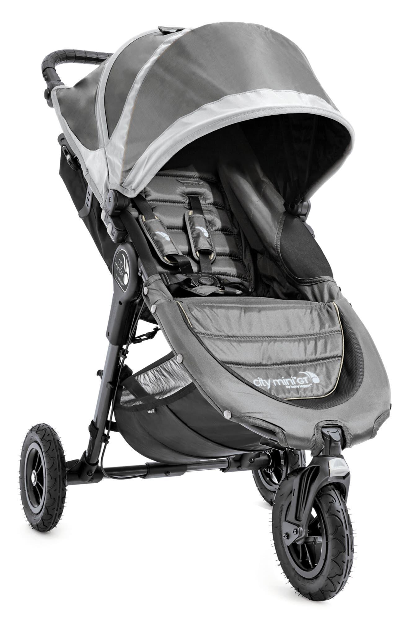 City Mini GT<sup>®</sup> Single Stroller & Parent Console Attachment,                             Alternate thumbnail 2, color,                             STEEL GRAY
