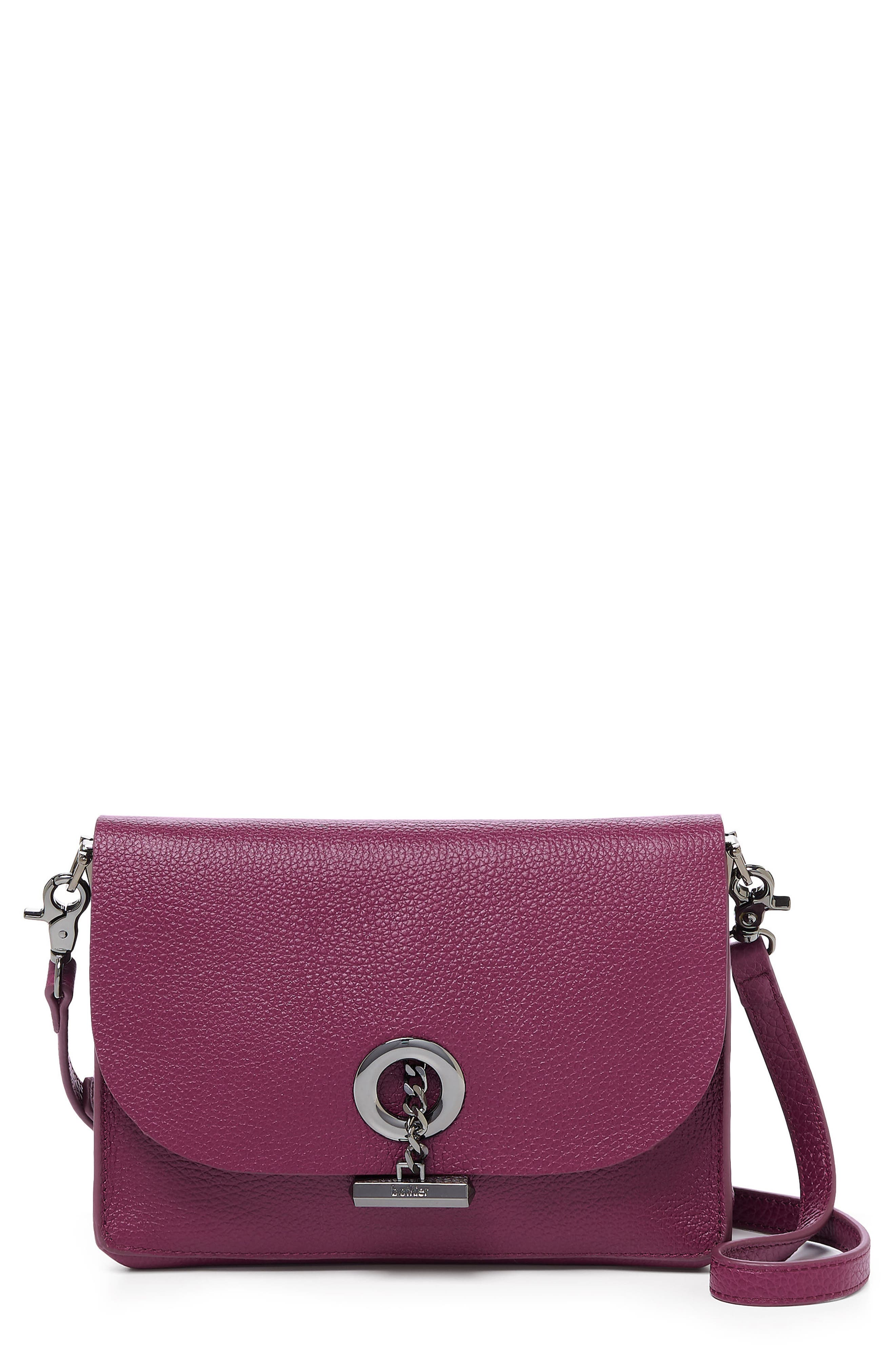 Waverly Leather Crossbody Bag,                             Main thumbnail 6, color,