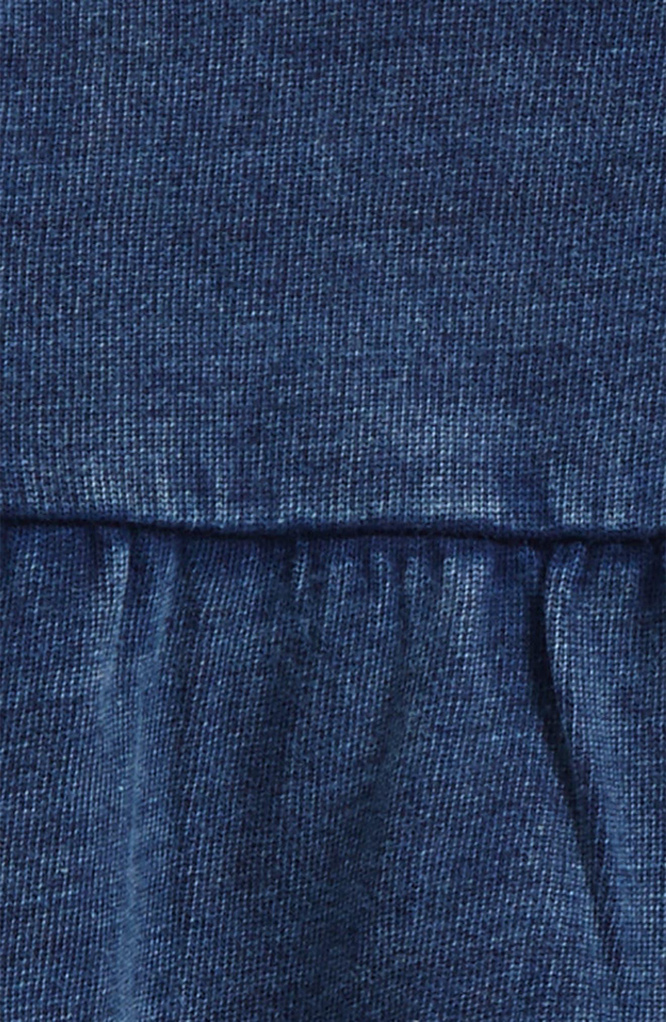 French Terry Dress & Dot Leggings Set,                             Alternate thumbnail 2, color,                             401