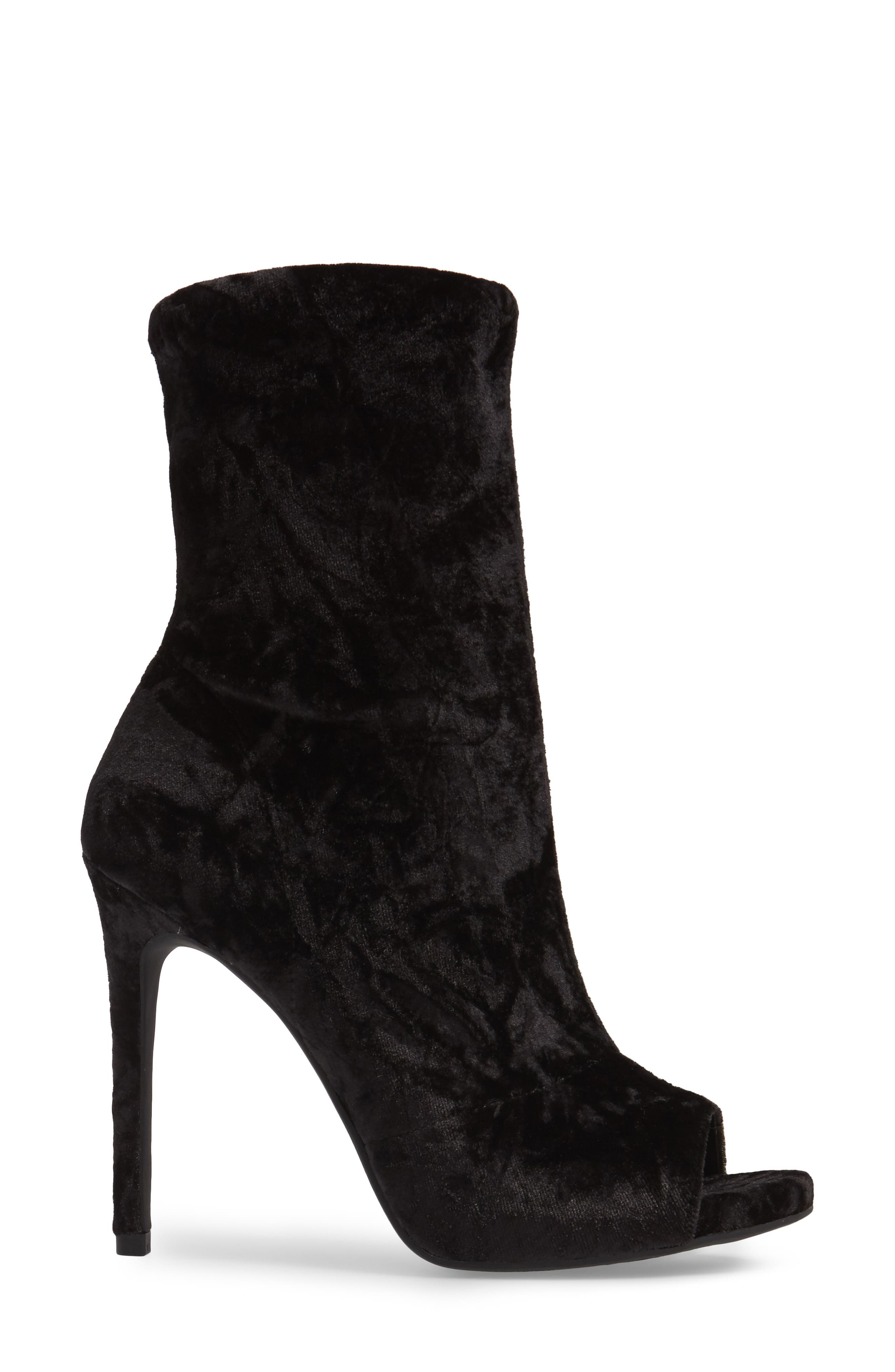 Rainer Peep Toe Bootie,                             Alternate thumbnail 7, color,