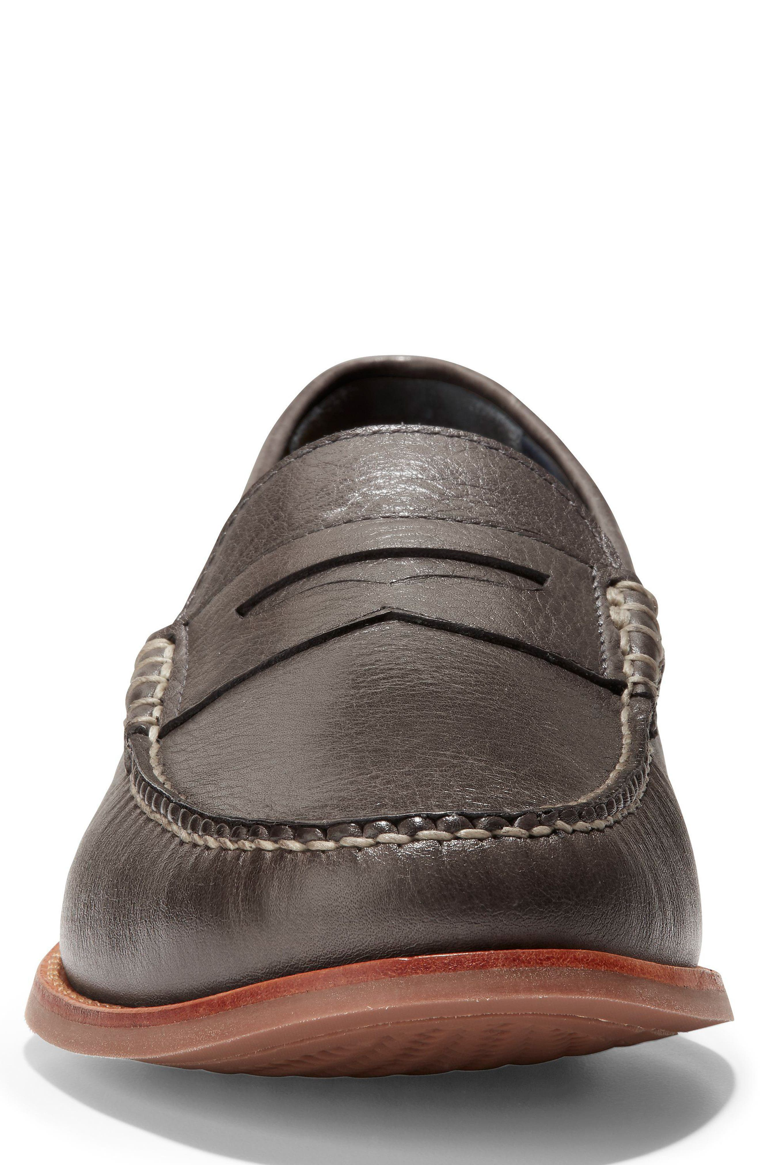 'Pinch Grand' Penny Loafer,                             Alternate thumbnail 4, color,                             021