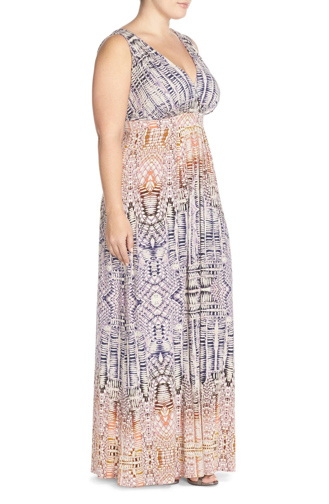 Chloe Empire Waist Maxi Dress,                             Alternate thumbnail 36, color,