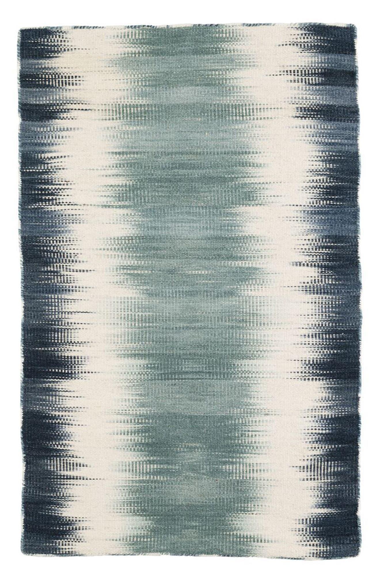 Sombre Kilim Wool Rug,                             Main thumbnail 1, color,                             400