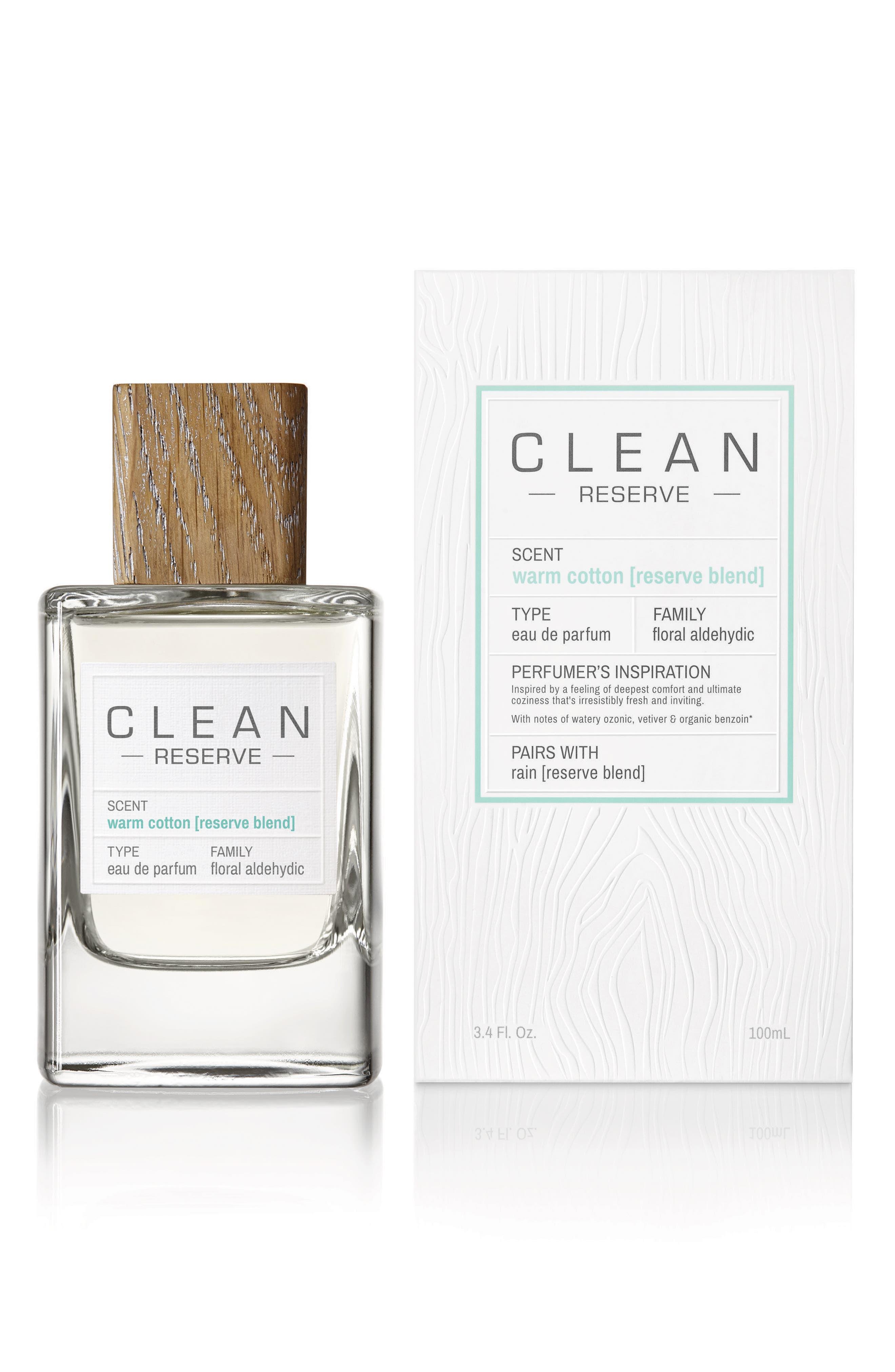 Reserve Blend Warm Cotton Eau de Parfum,                             Alternate thumbnail 4, color,                             NO COLOR