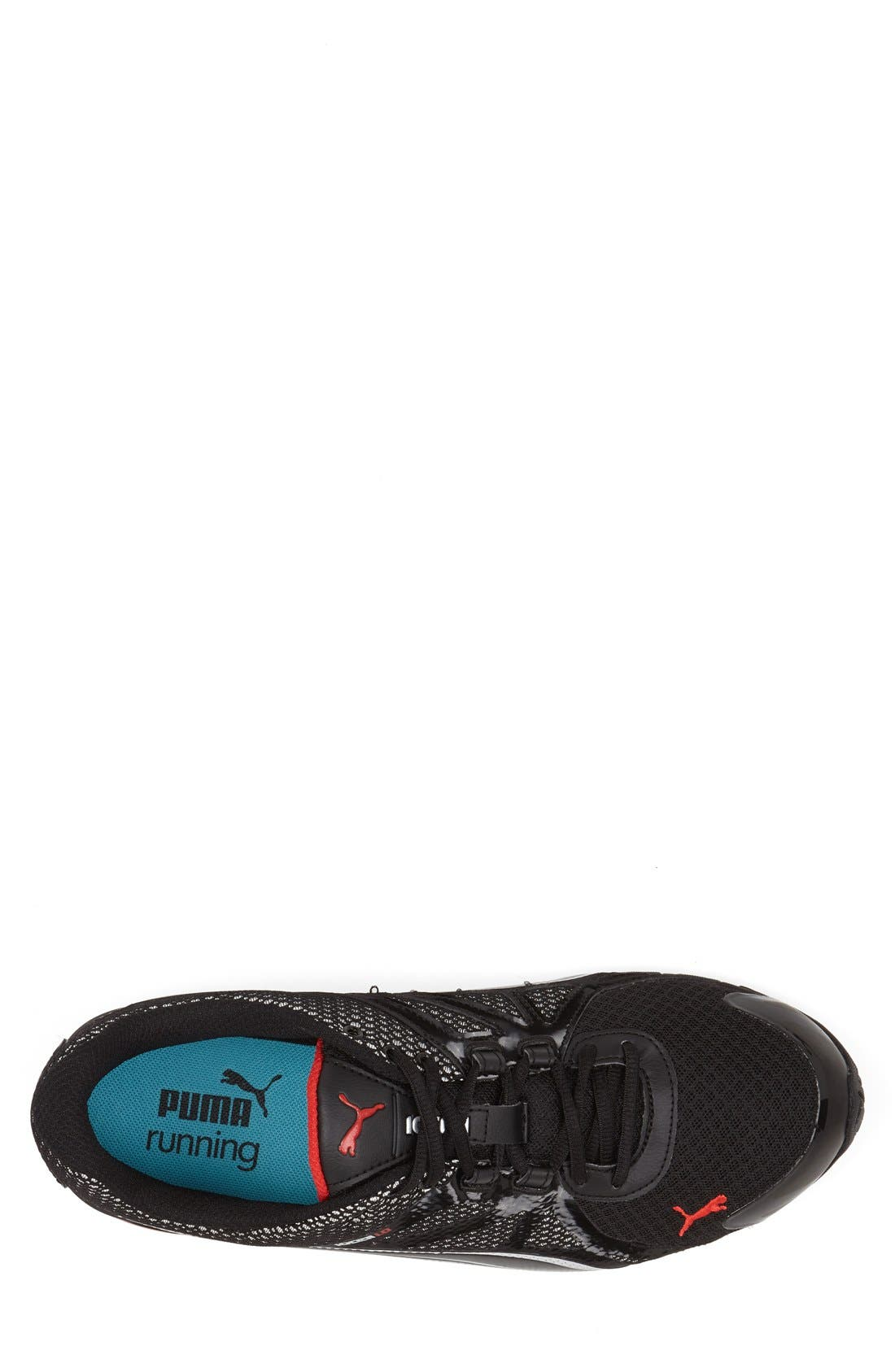 PUMA,                             'Voltaic 5' Running Shoe,                             Alternate thumbnail 4, color,                             001