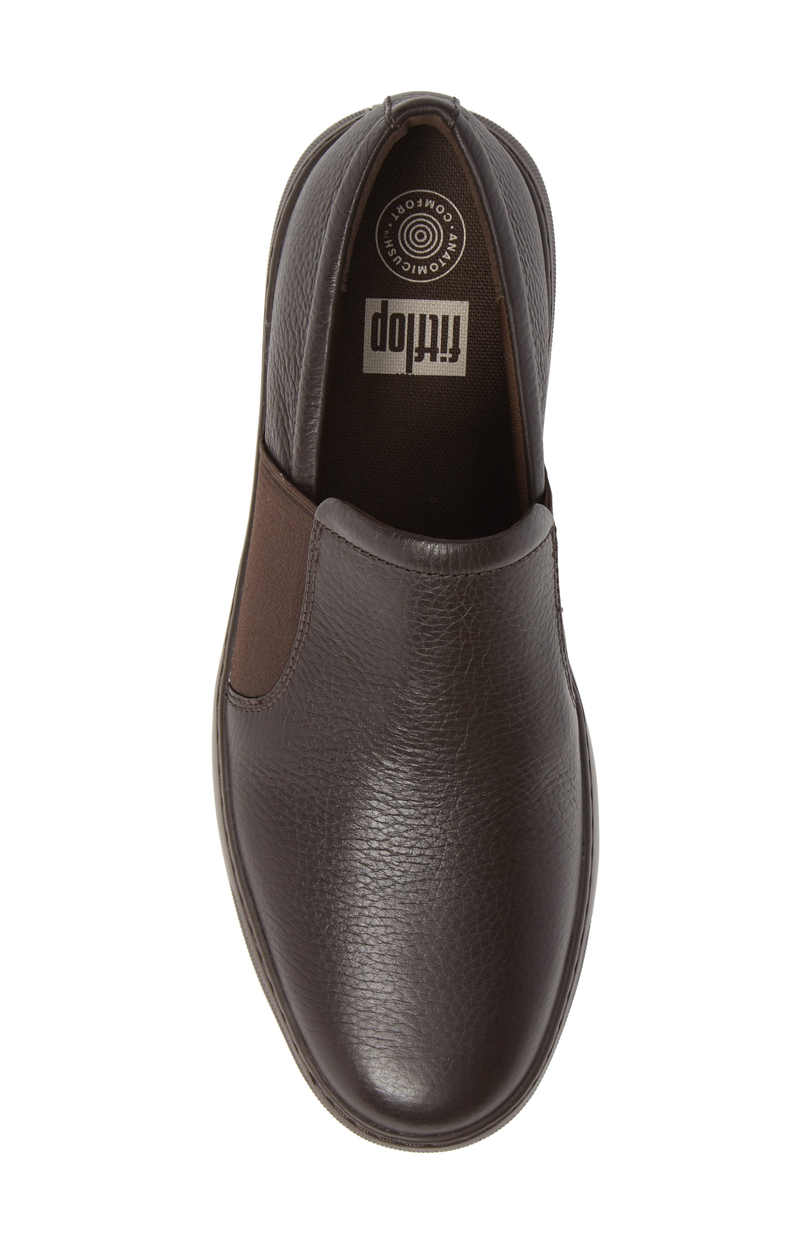 Collins Slip-On Sneaker,                             Alternate thumbnail 5, color,                             CHOCOLATE