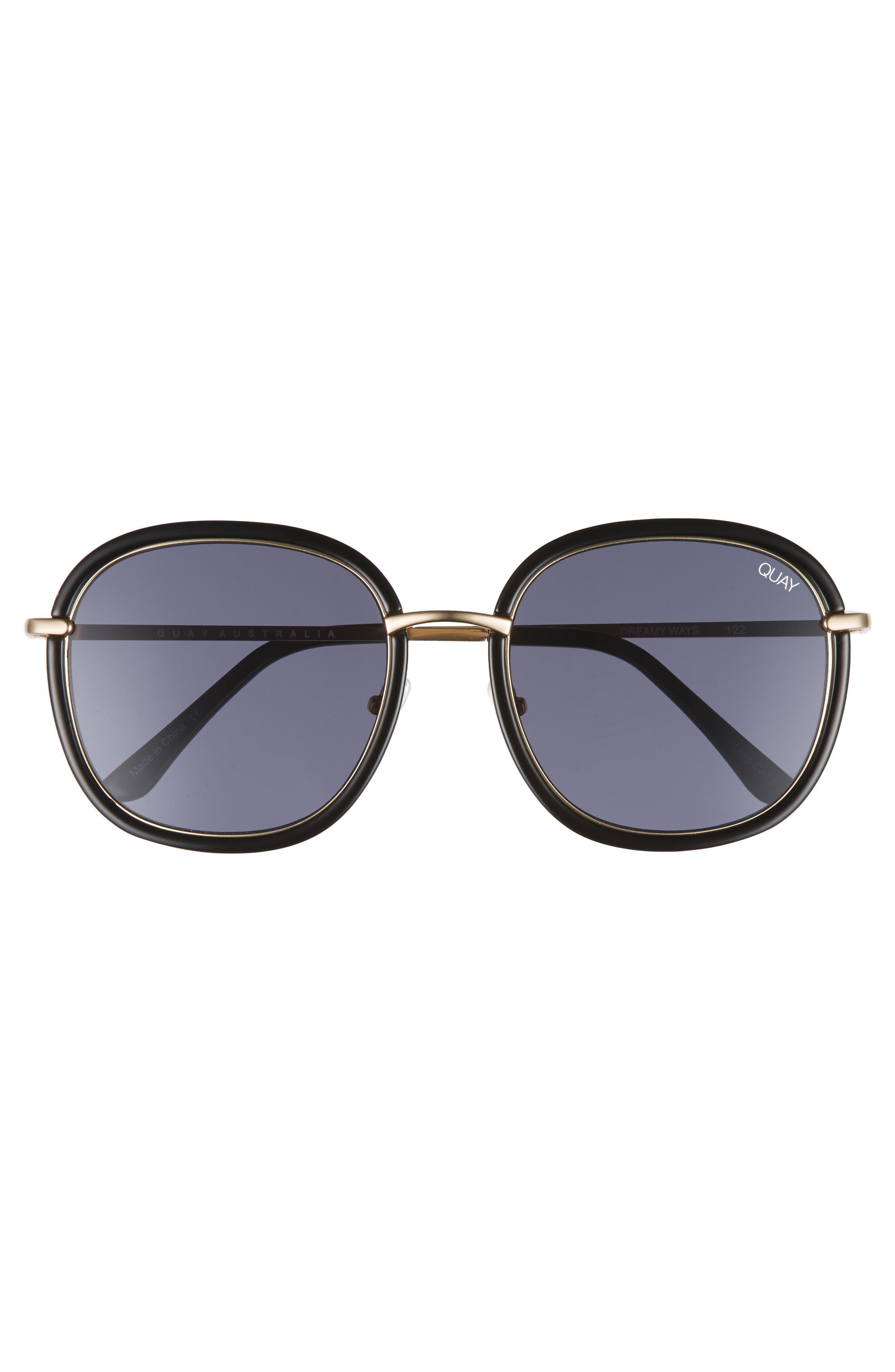 Dreamy Ways 57mm Rectangular Sunglasses,                             Alternate thumbnail 5, color,