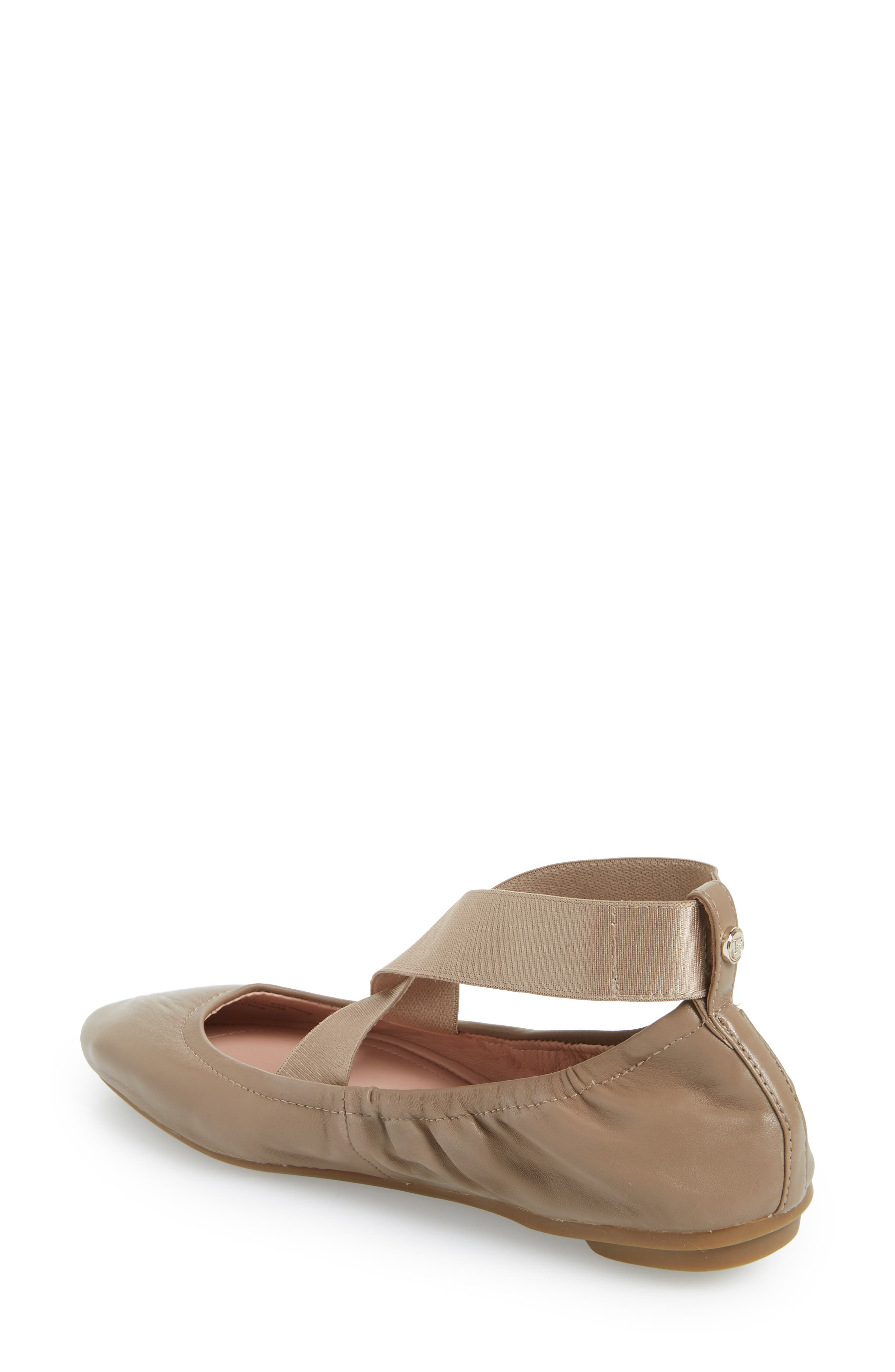 Edina Strappy Ballet Flat,                             Alternate thumbnail 2, color,                             260