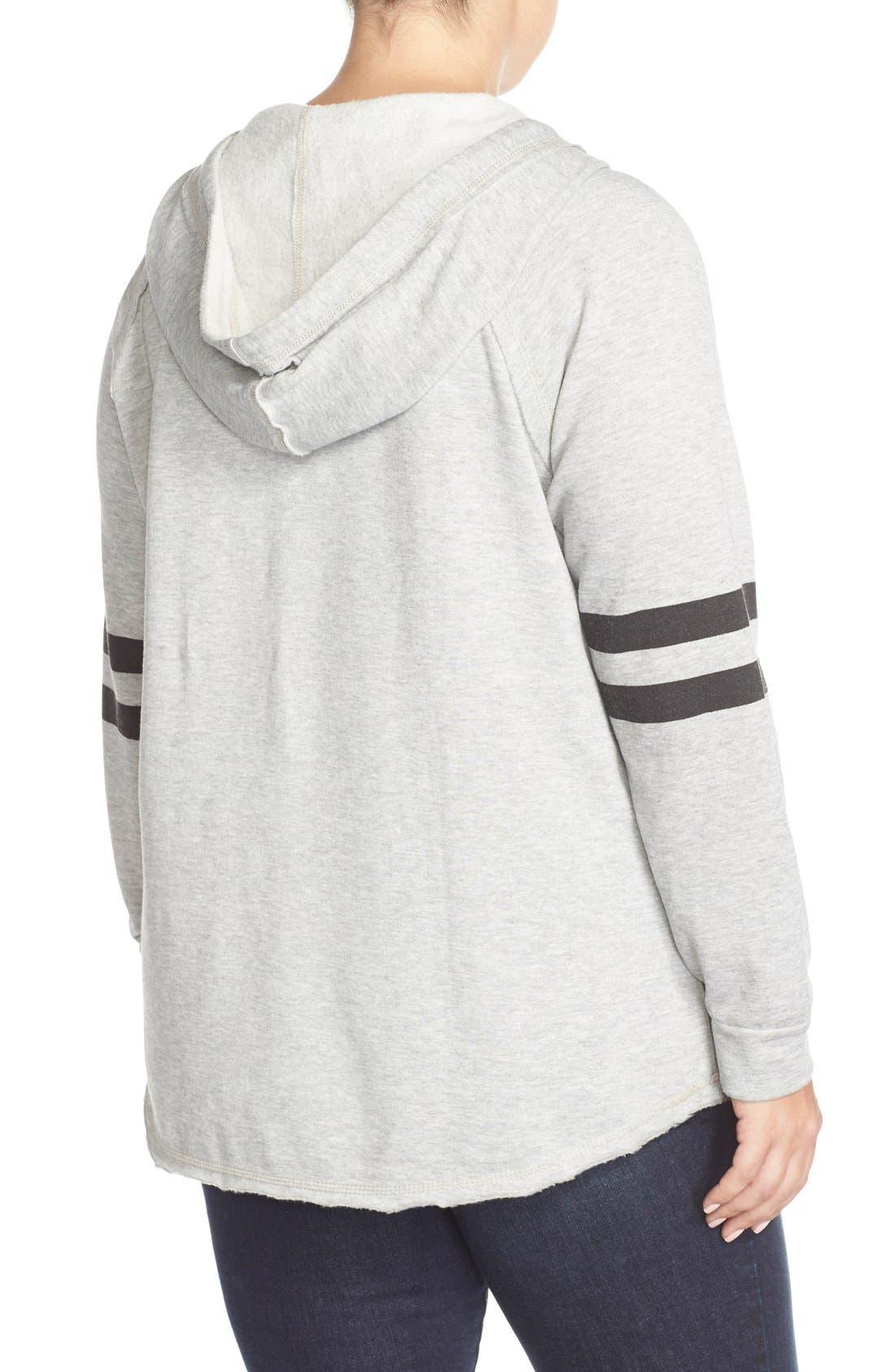 'Love Ya, Mean It' Hooded Sweatshirt,                             Alternate thumbnail 9, color,