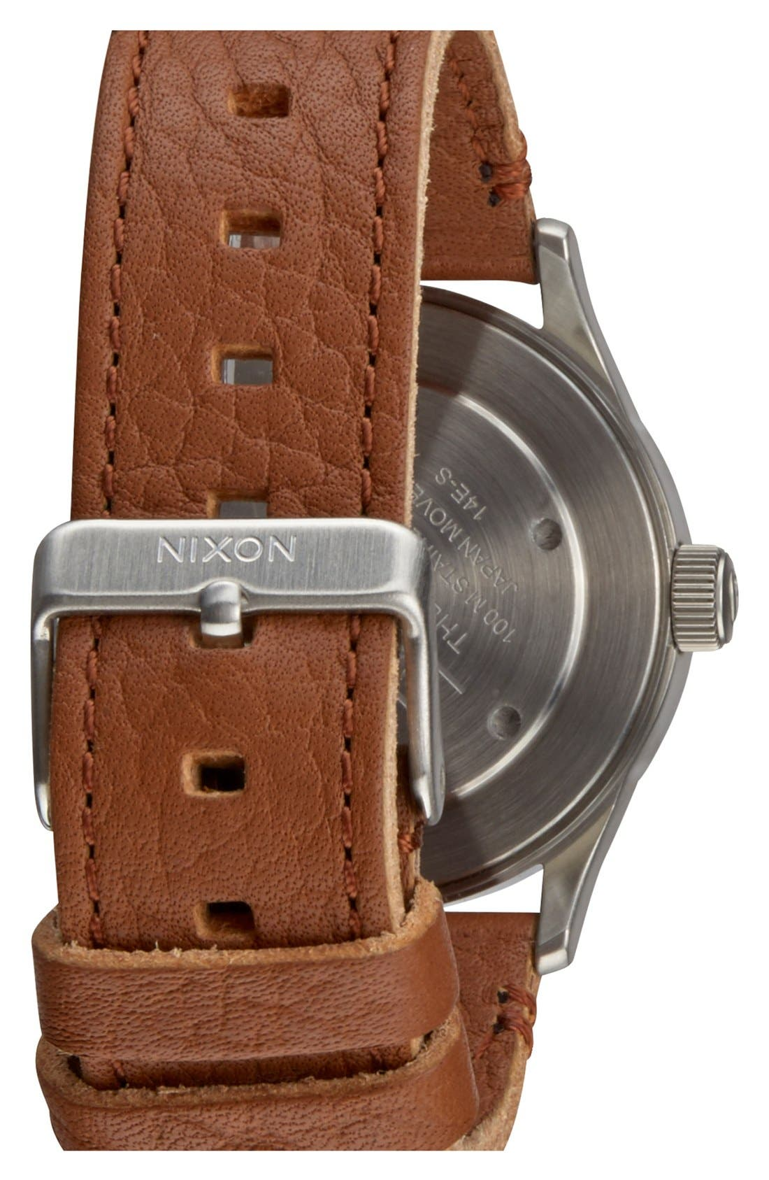 'The Sentry 38' Leather Strap Watch, 38mm,                             Alternate thumbnail 17, color,
