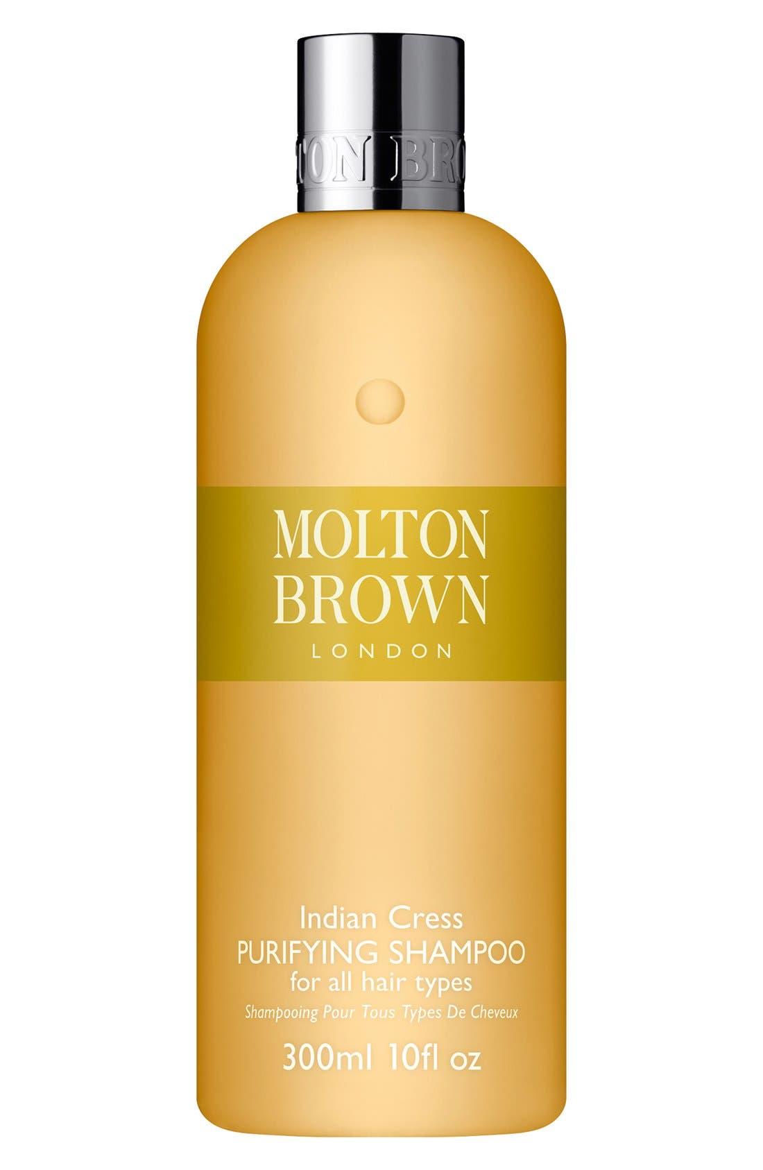 Indian Cress Purifying Shampoo,                             Main thumbnail 1, color,                             000