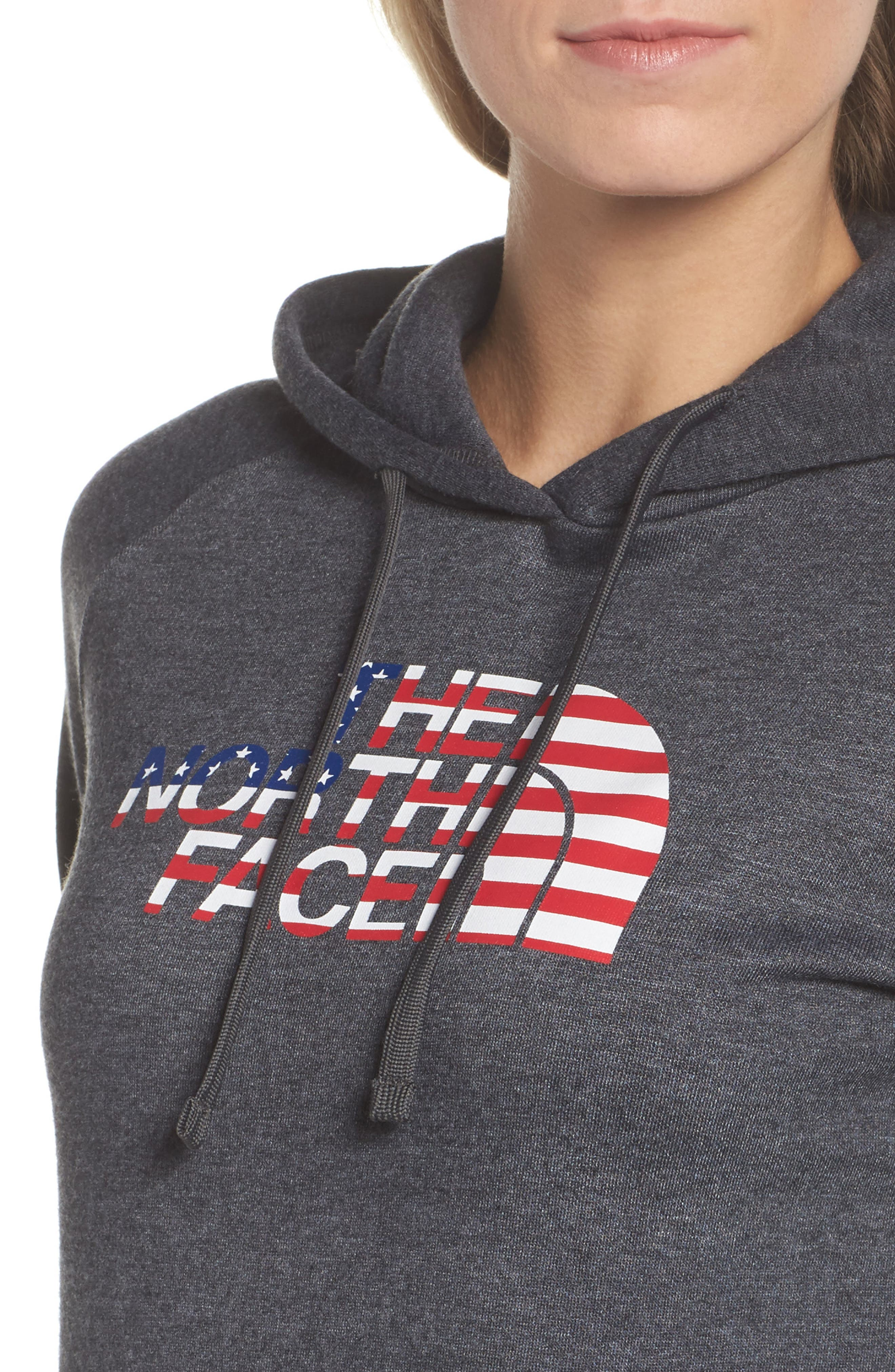 International Collection USA Pullover Hoodie,                             Alternate thumbnail 4, color,                             021