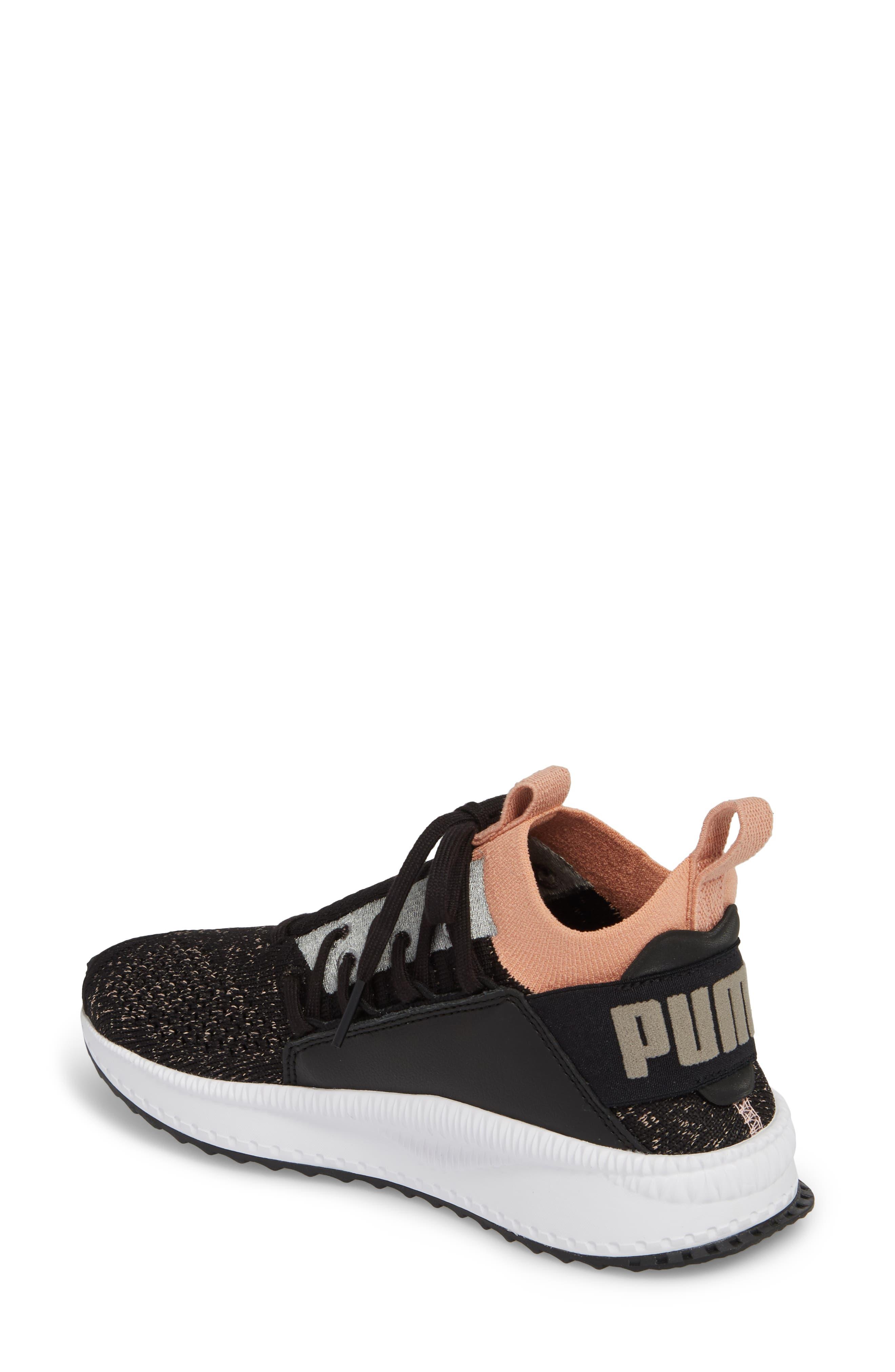Tsugi Jun Knit Sneaker,                             Alternate thumbnail 2, color,                             001