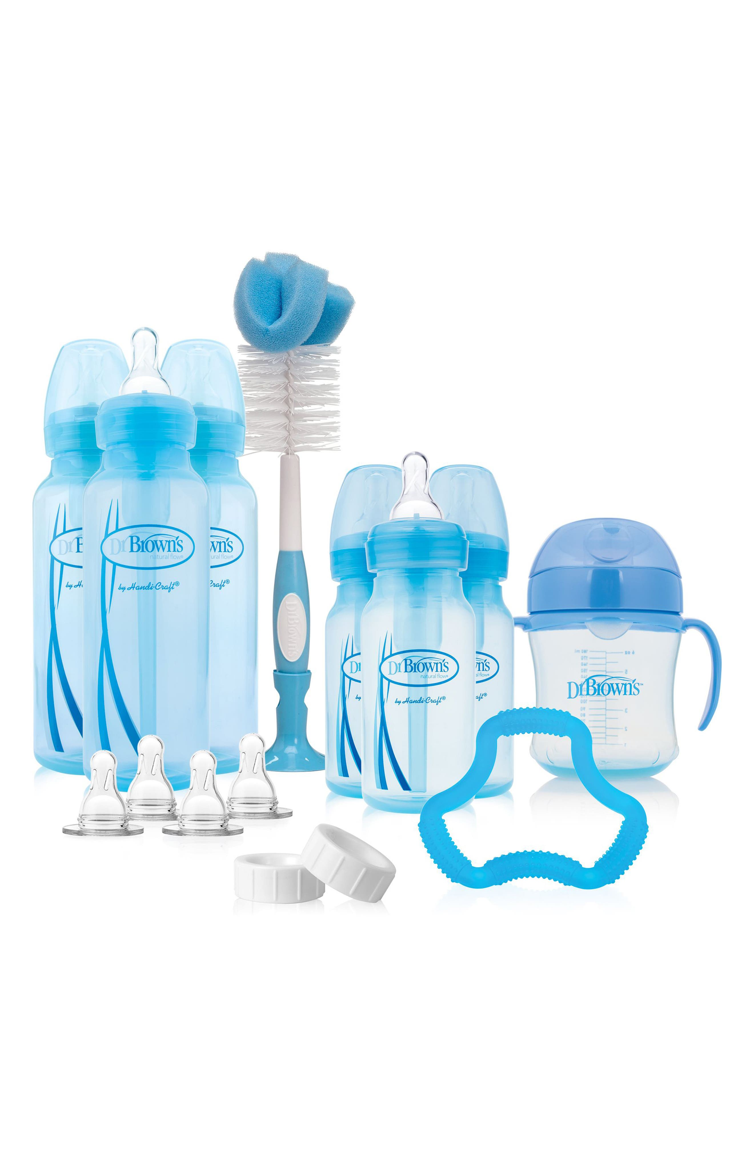 DR. BROWN'S Options Baby Bottle Gift Set, Main, color, BLUE