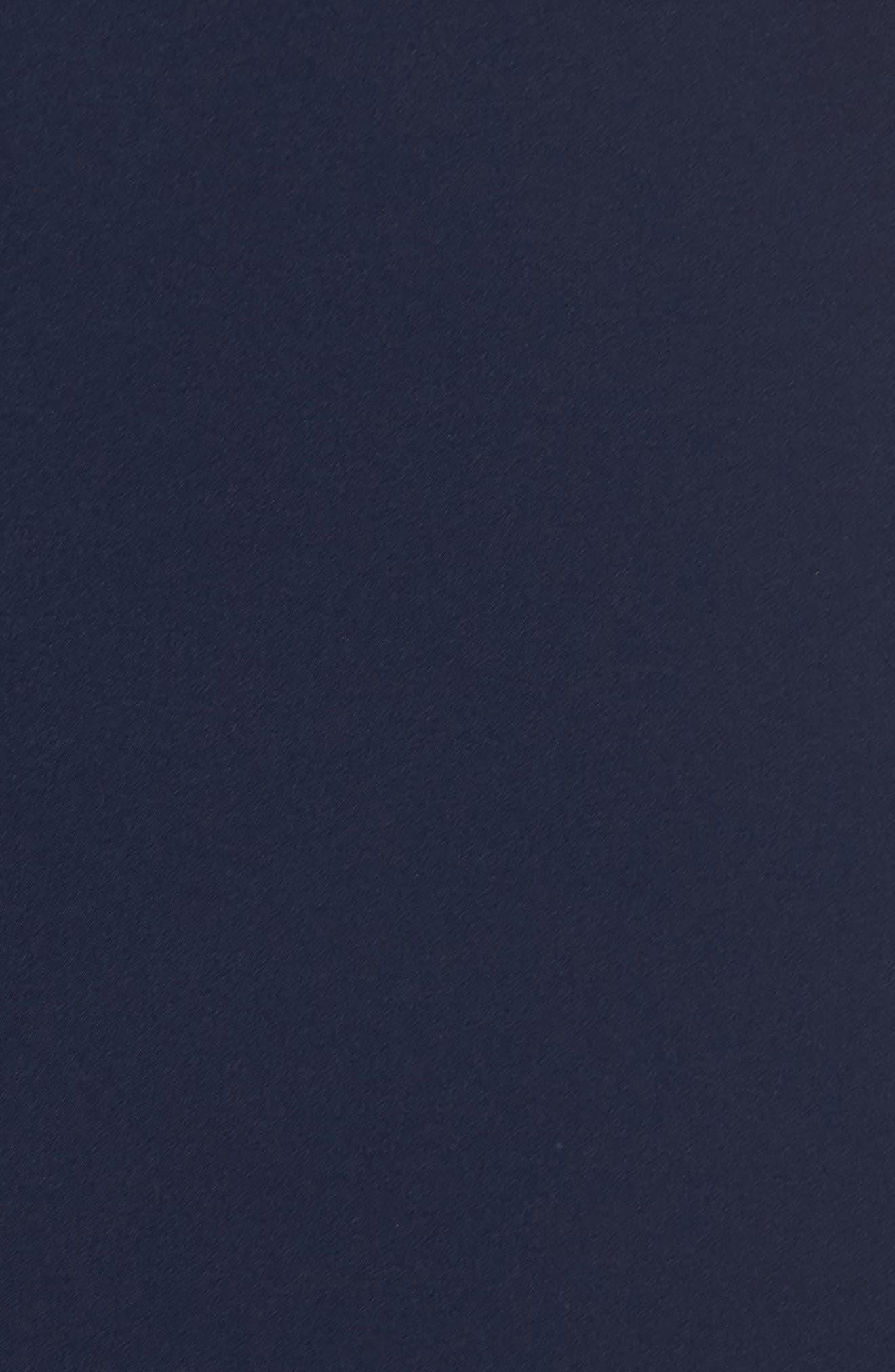 MAGGY LONDON,                             Dream Crepe Off the Shoulder Midi Dress,                             Alternate thumbnail 6, color,                             410