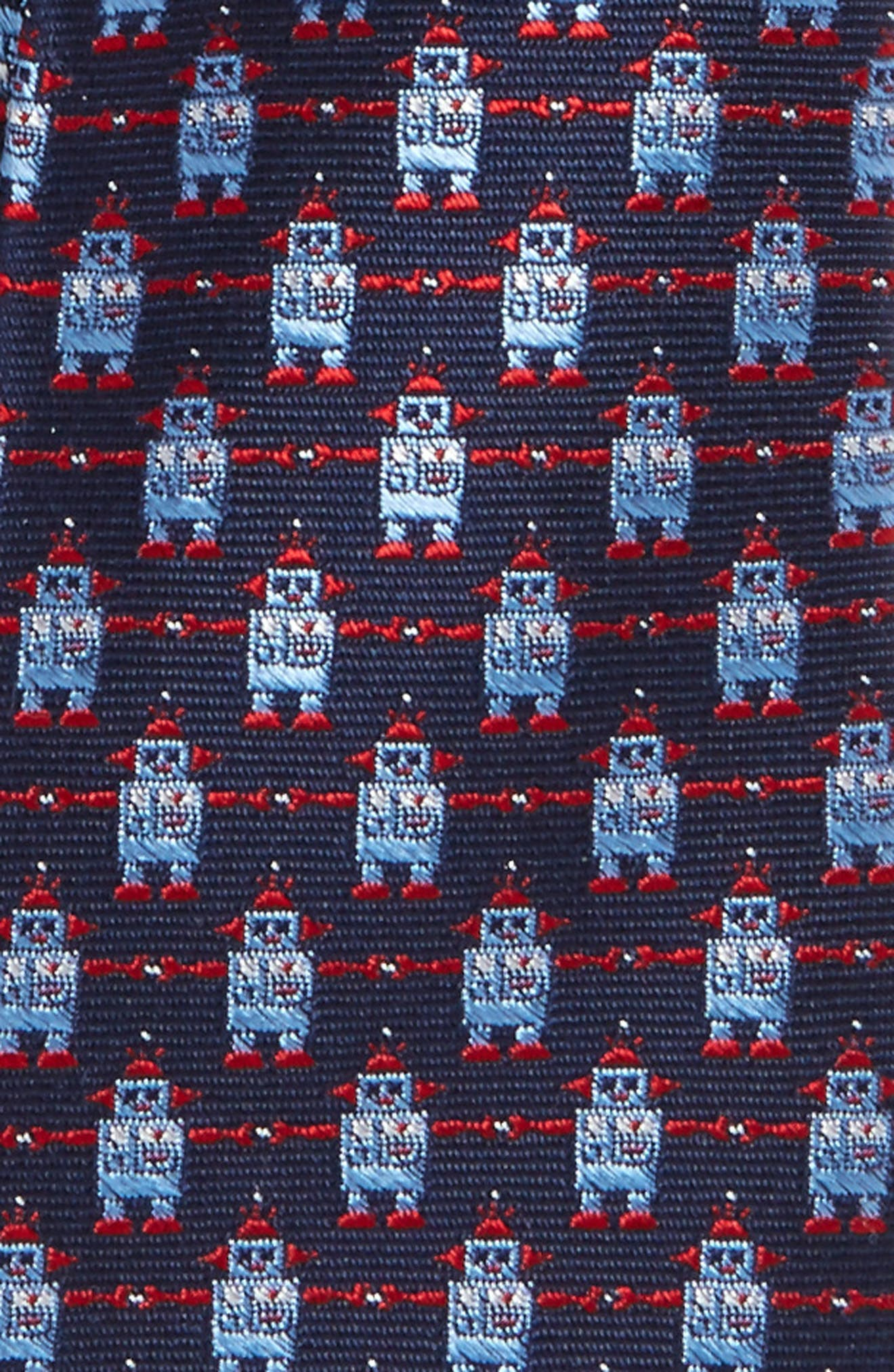 Patterned Silk Tie,                             Alternate thumbnail 17, color,