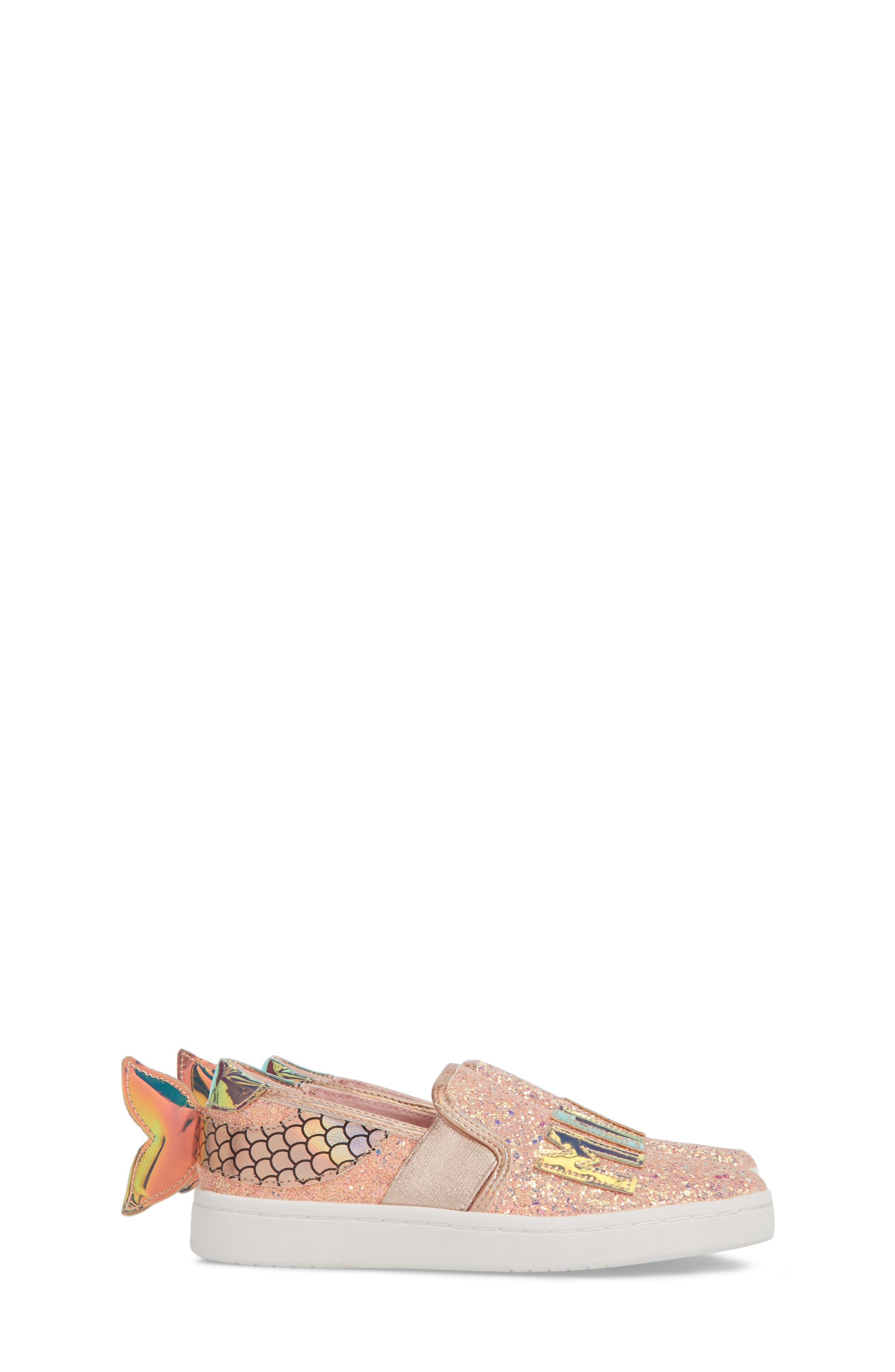 Blane Mermaid Sneaker,                             Alternate thumbnail 4, color,                             220