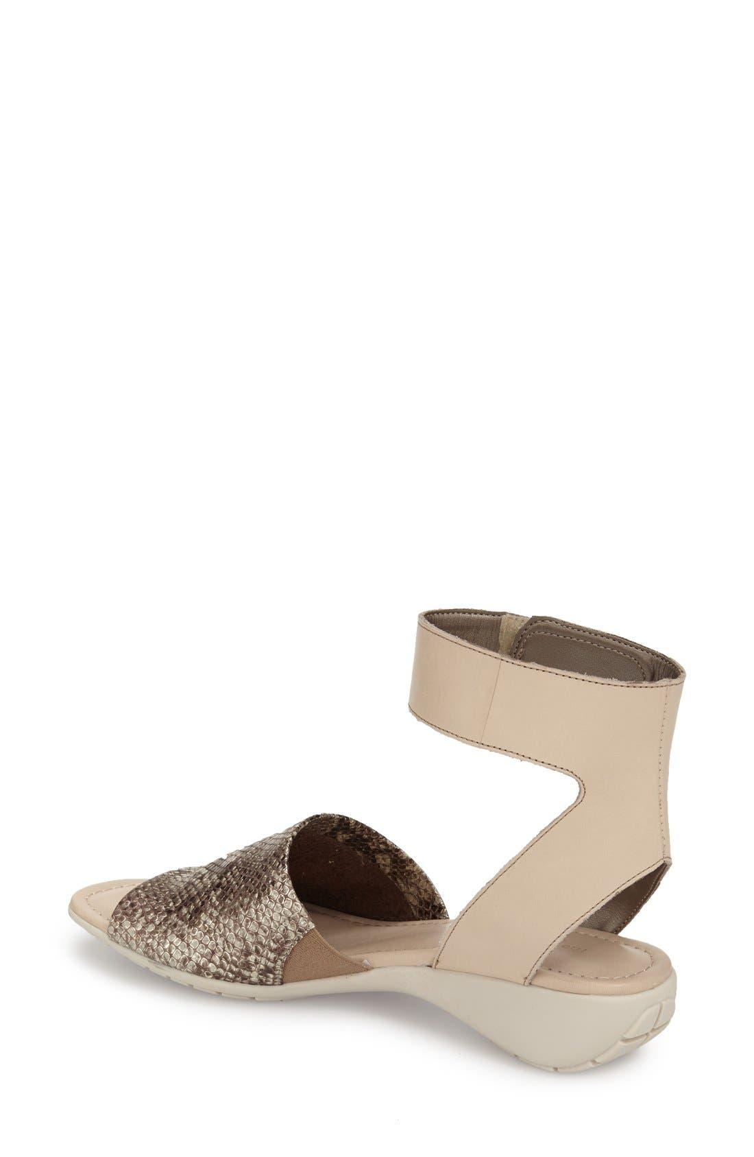 'Beglad' Leather Ankle Strap Sandal,                             Alternate thumbnail 31, color,