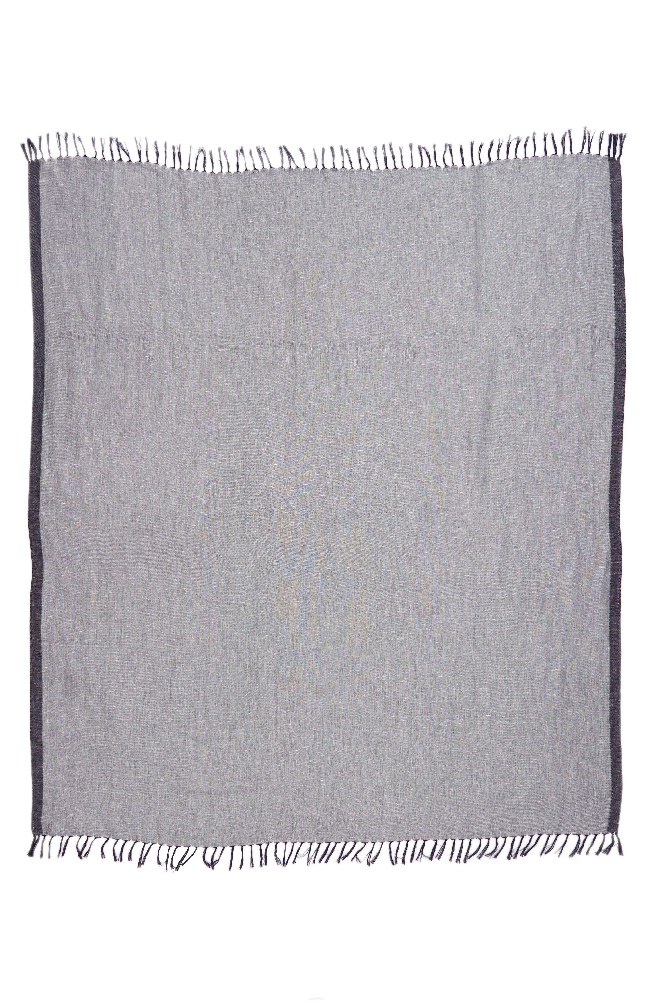 Cross Dyed Linen Blend Scarf,                             Alternate thumbnail 10, color,