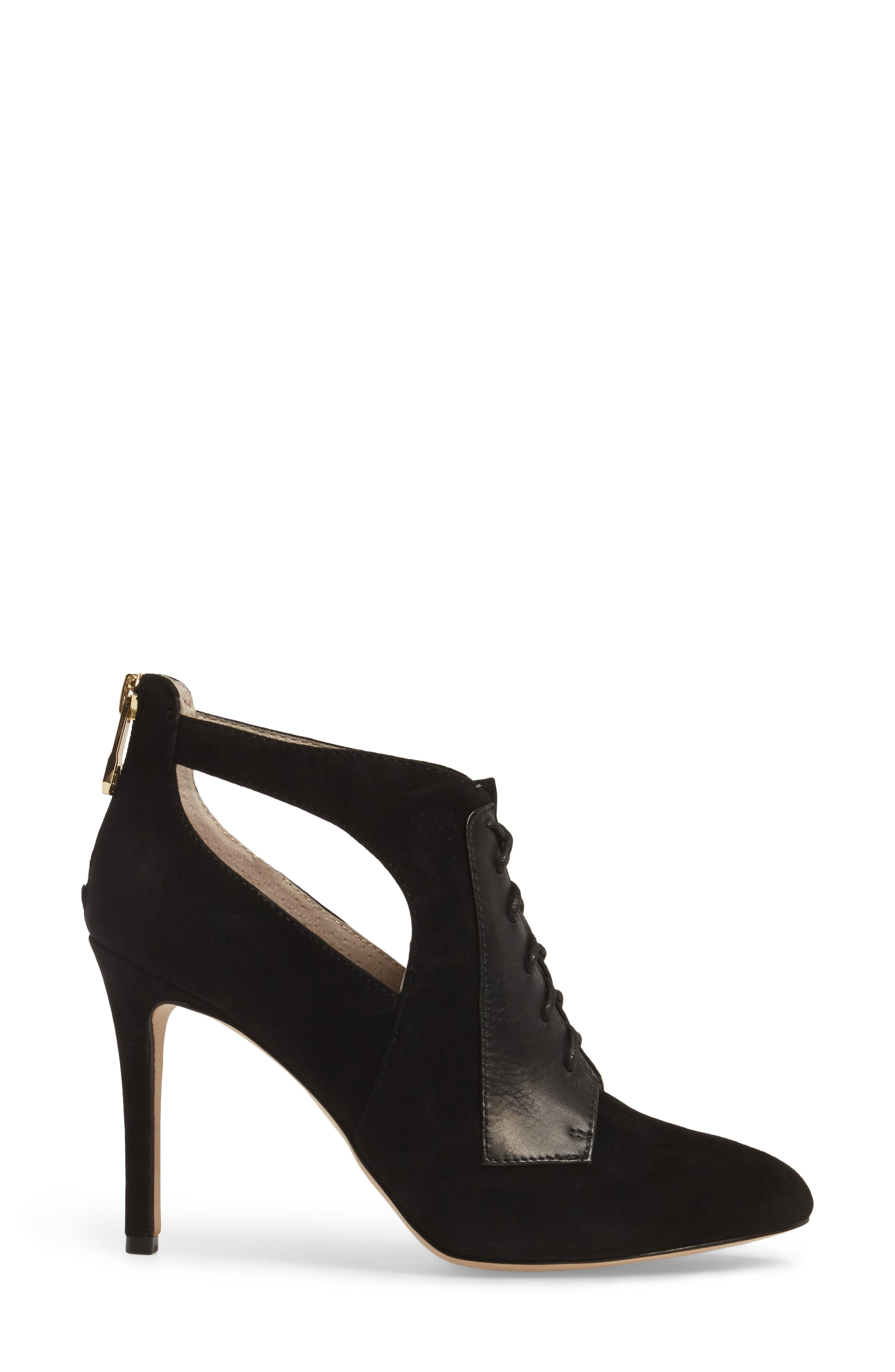 Ionia Lace-Up Pump,                             Alternate thumbnail 3, color,                             001