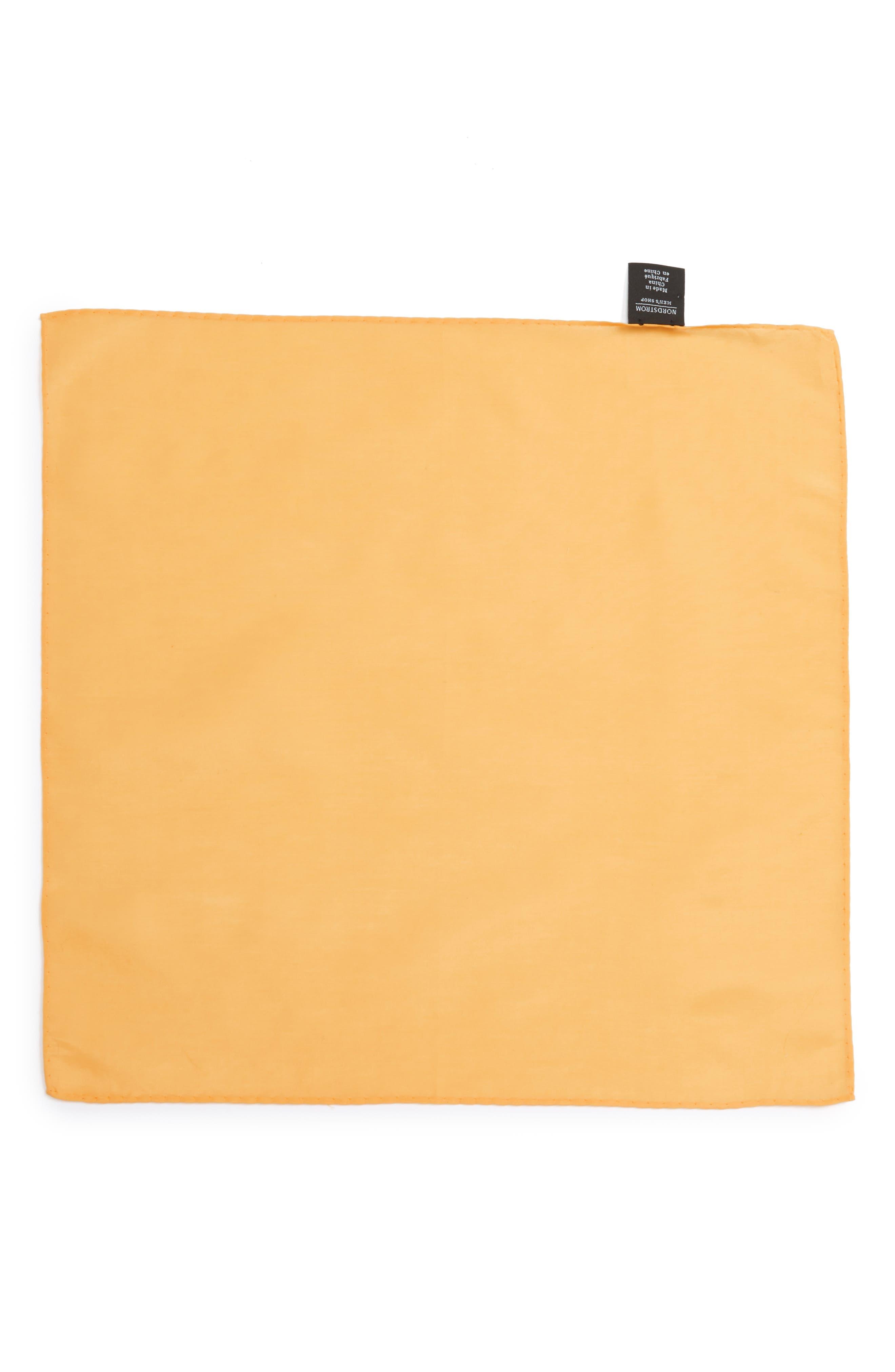 Solid Cotton & Silk Pocket Square,                             Alternate thumbnail 16, color,
