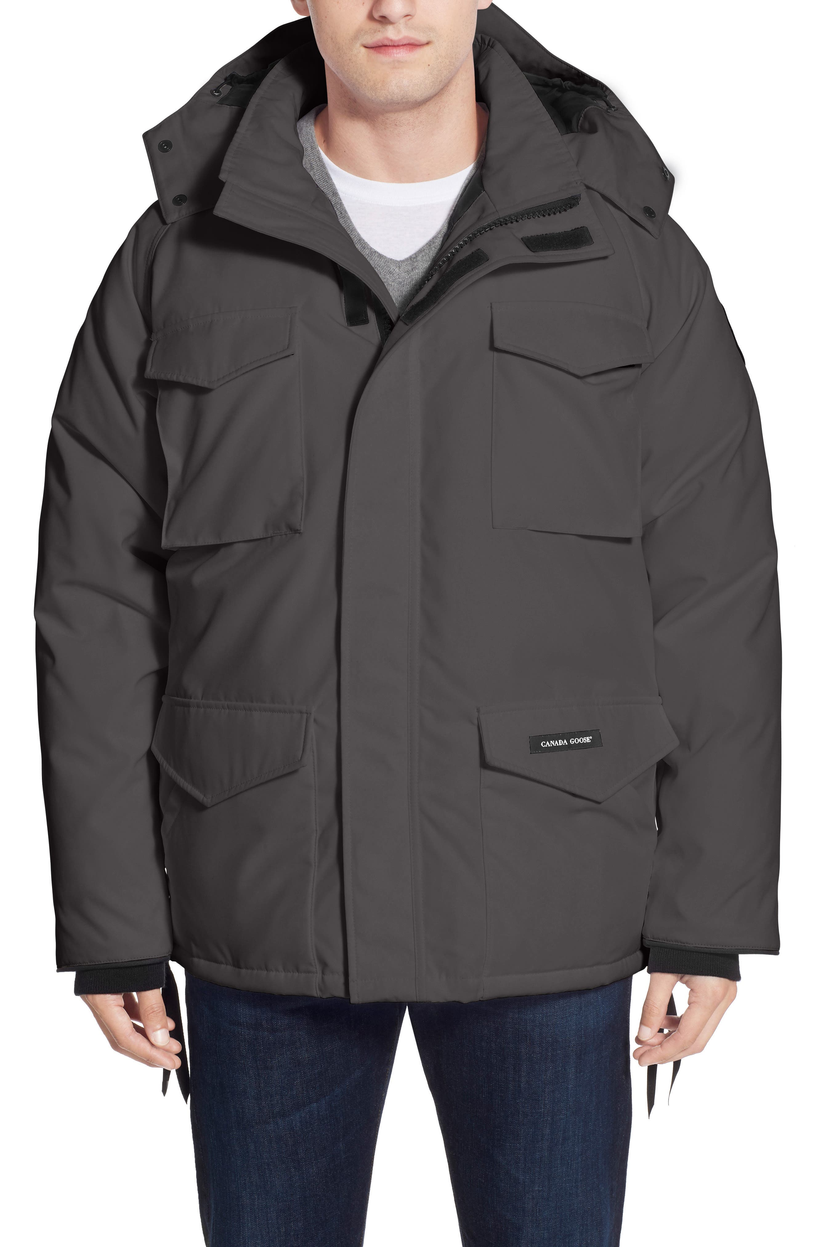 'Constable' Regular Fit Water Resistant Down Parka,                             Alternate thumbnail 6, color,