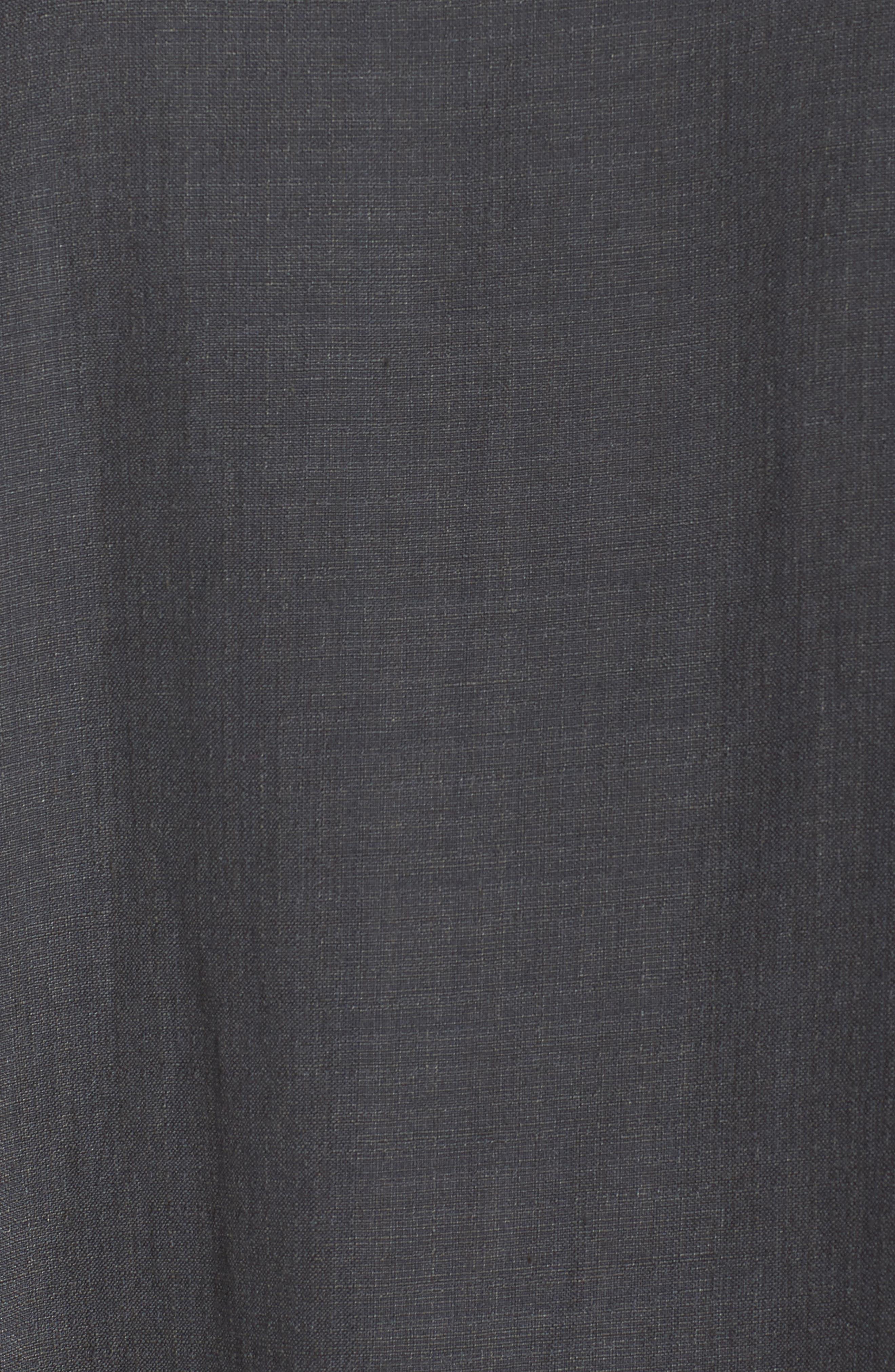 Linen Blend Shift Dress,                             Alternate thumbnail 13, color,