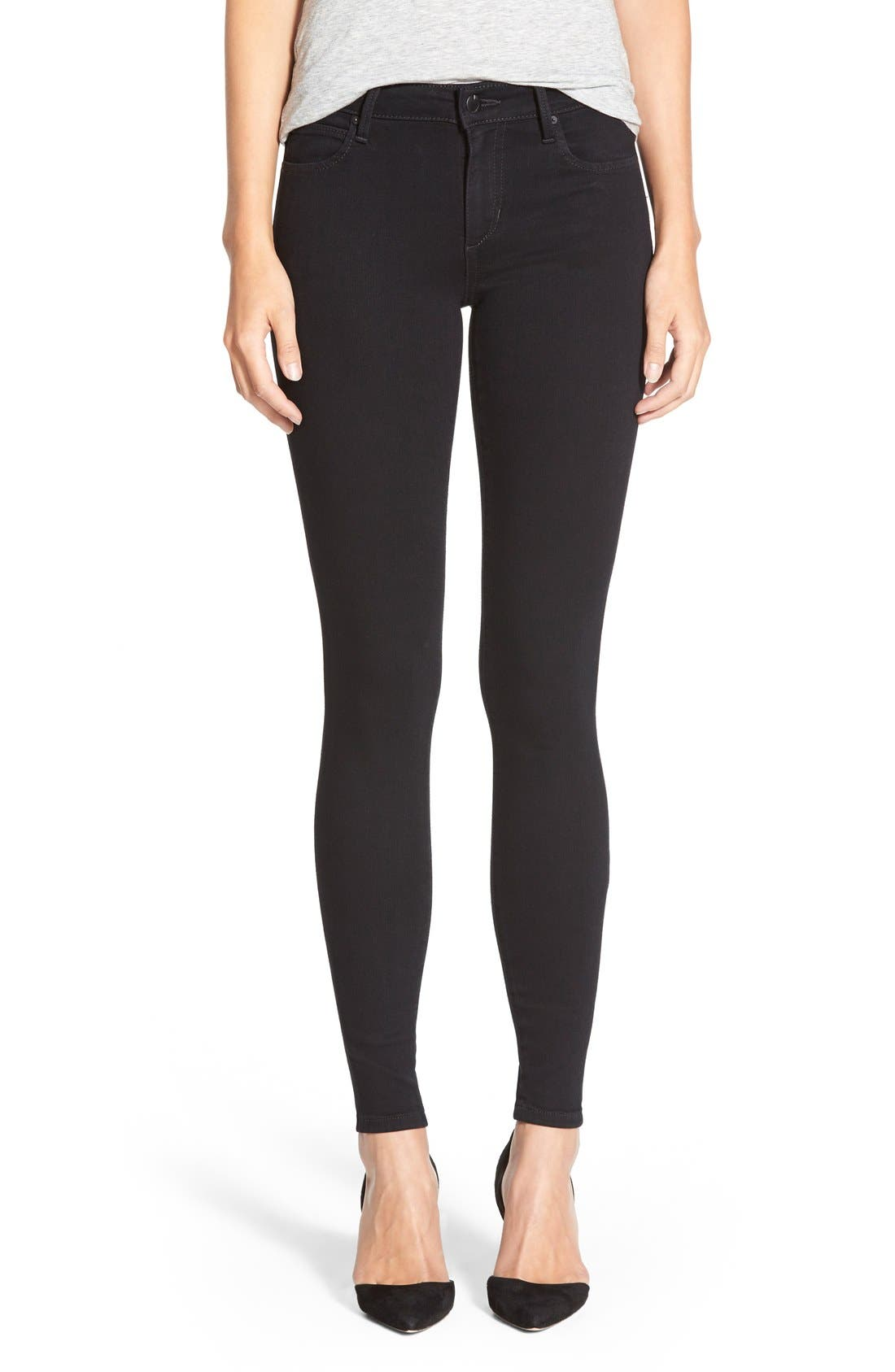 Flawless - Honey Curvy Skinny Jeans,                         Main,                         color, 001