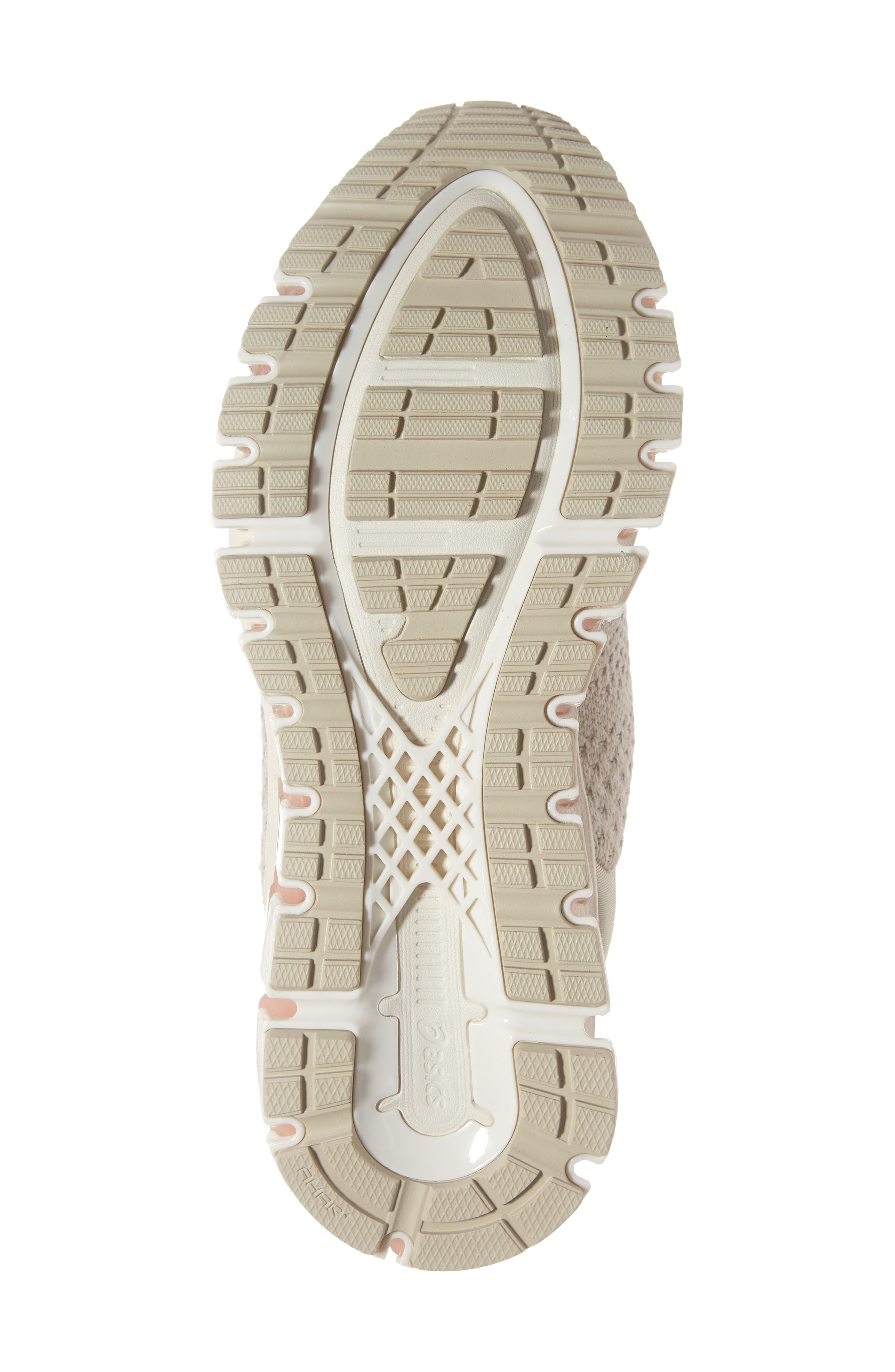 ASICS<SUP>®</SUP>,                             GEL-Quantum 360 Running Shoe,                             Alternate thumbnail 6, color,                             BIRCH/ FEATHER GREY