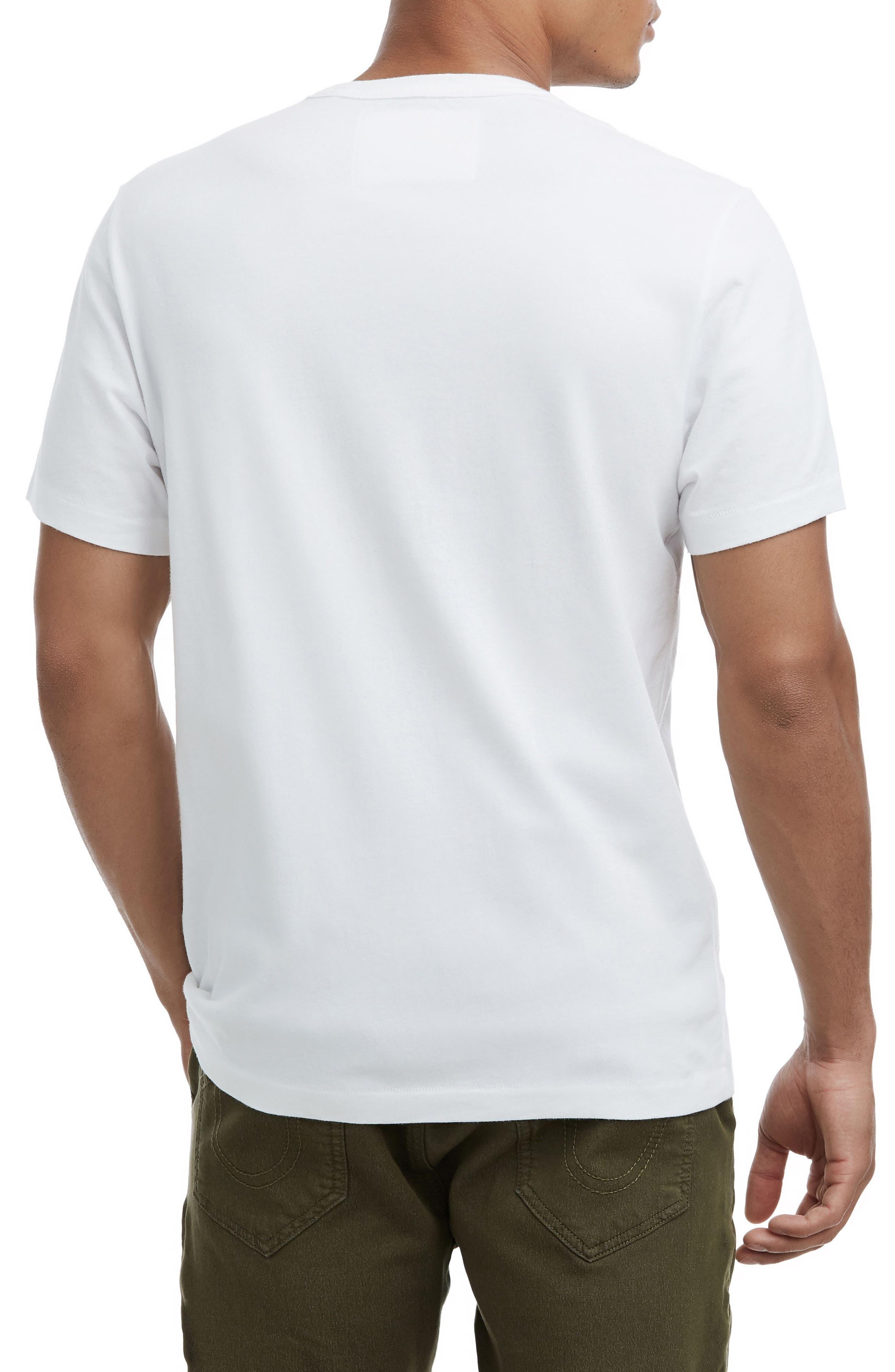Tagged Sign T-Shirt,                             Alternate thumbnail 2, color,                             OPTIC WHITE