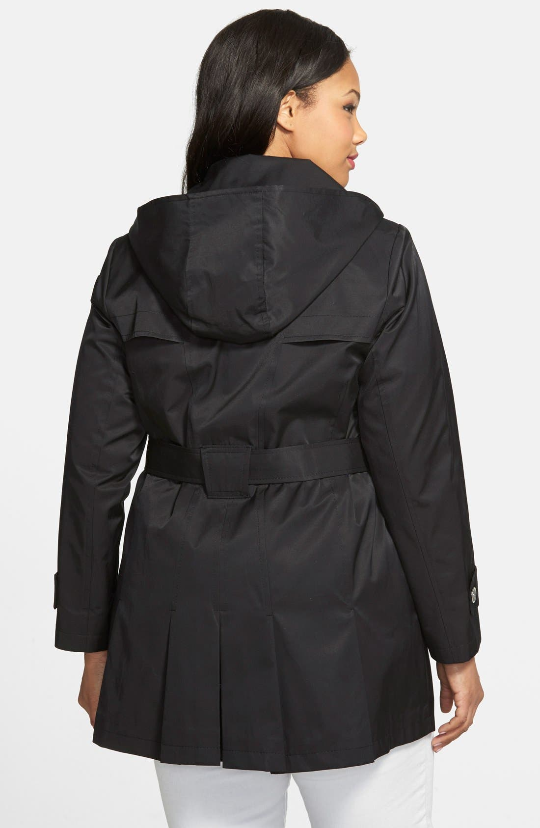 'Scarpa' Single Breasted Trench Coat,                             Alternate thumbnail 13, color,