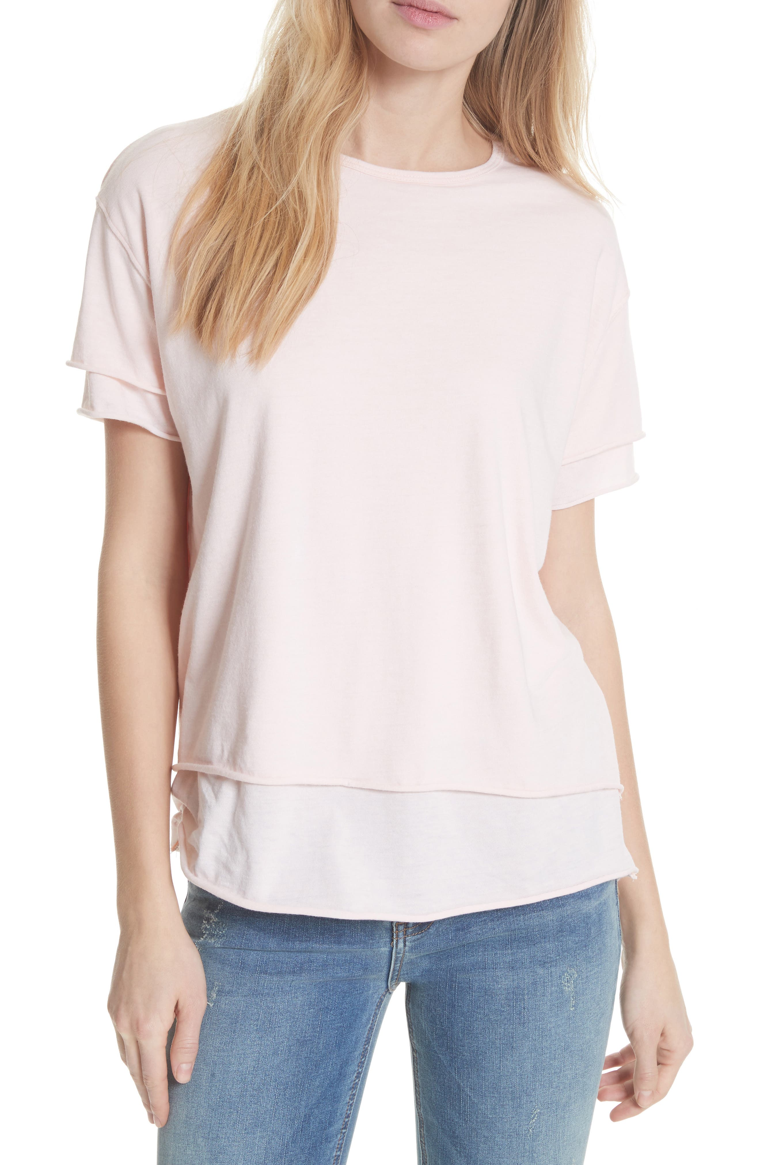 We the Free by Free People Cloud Nine Tee,                             Main thumbnail 6, color,