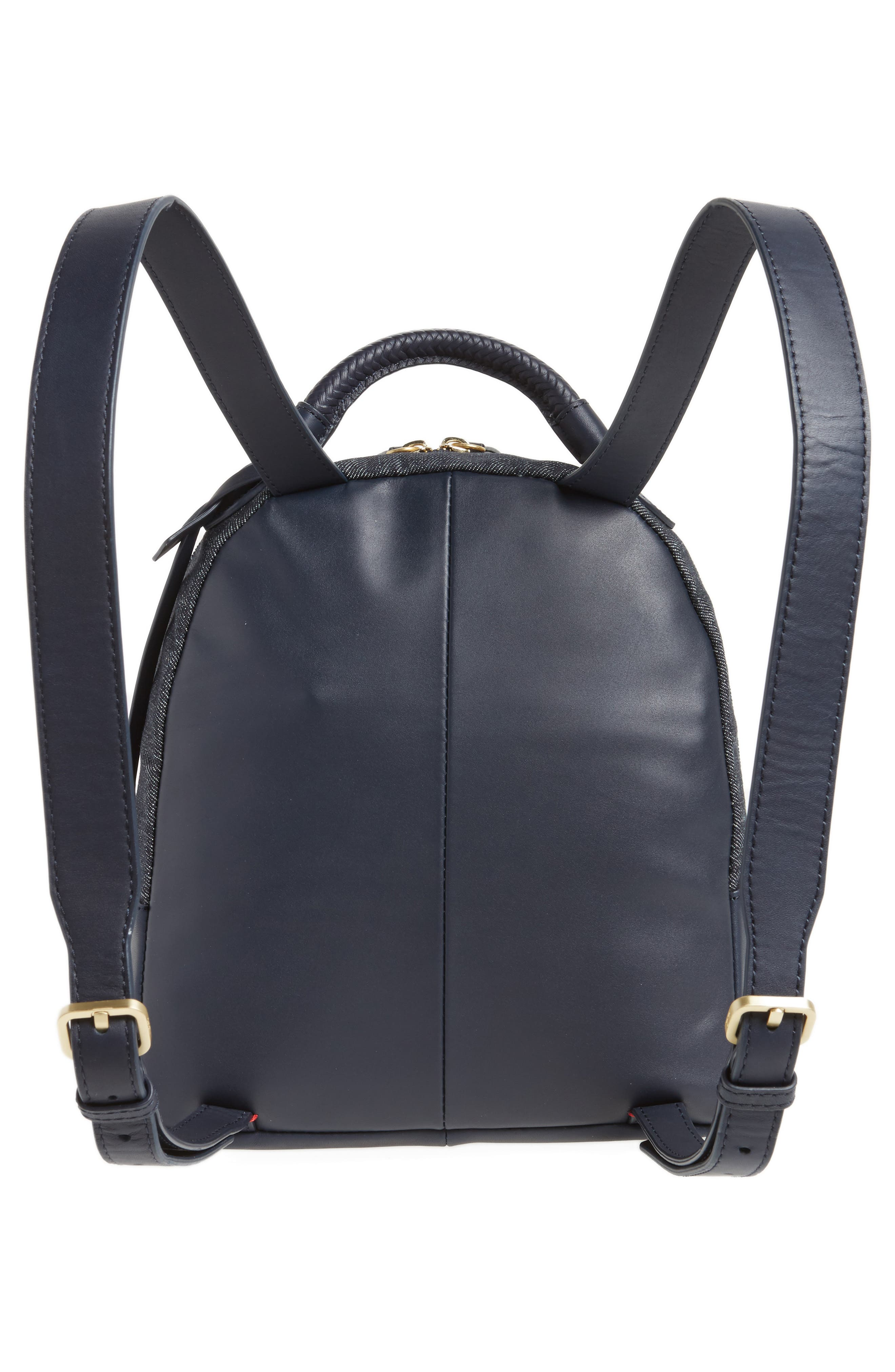 Brody Leather Backpack,                             Alternate thumbnail 6, color,