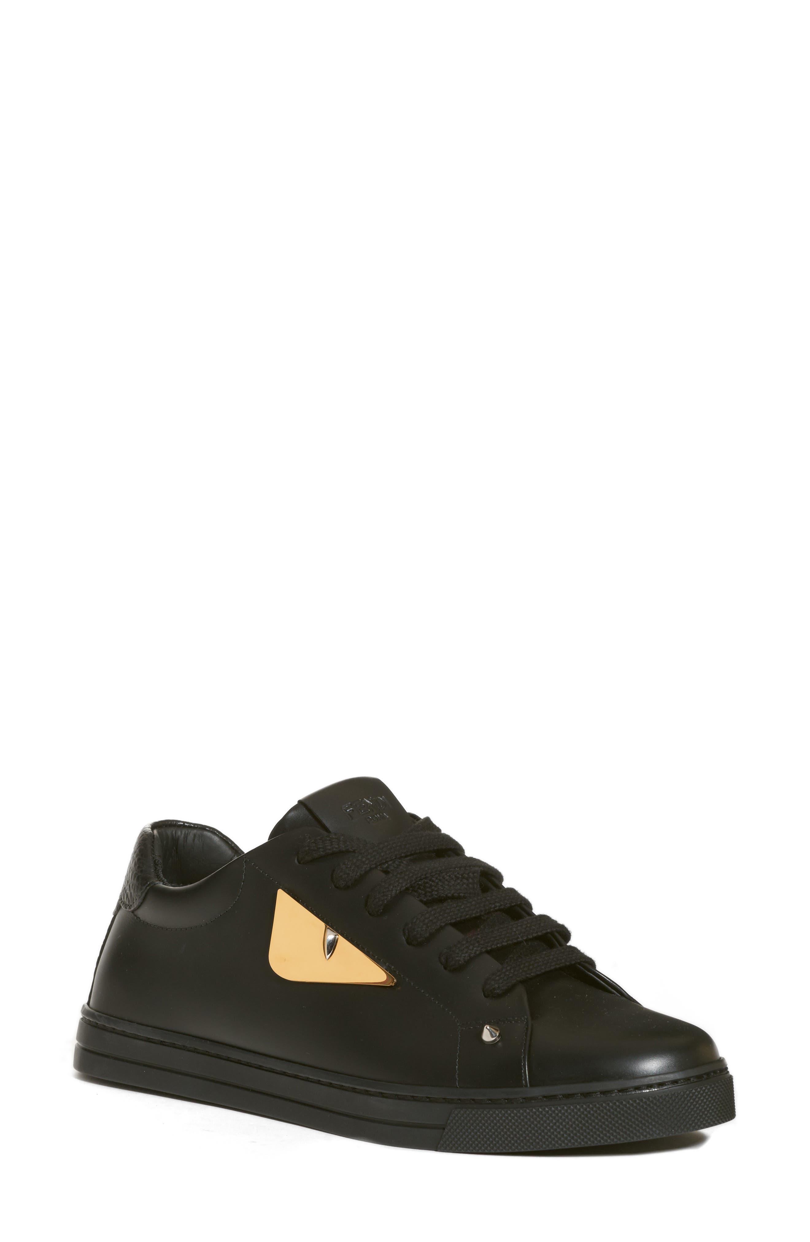 Bugs Sneaker,                             Main thumbnail 1, color,                             BLACK