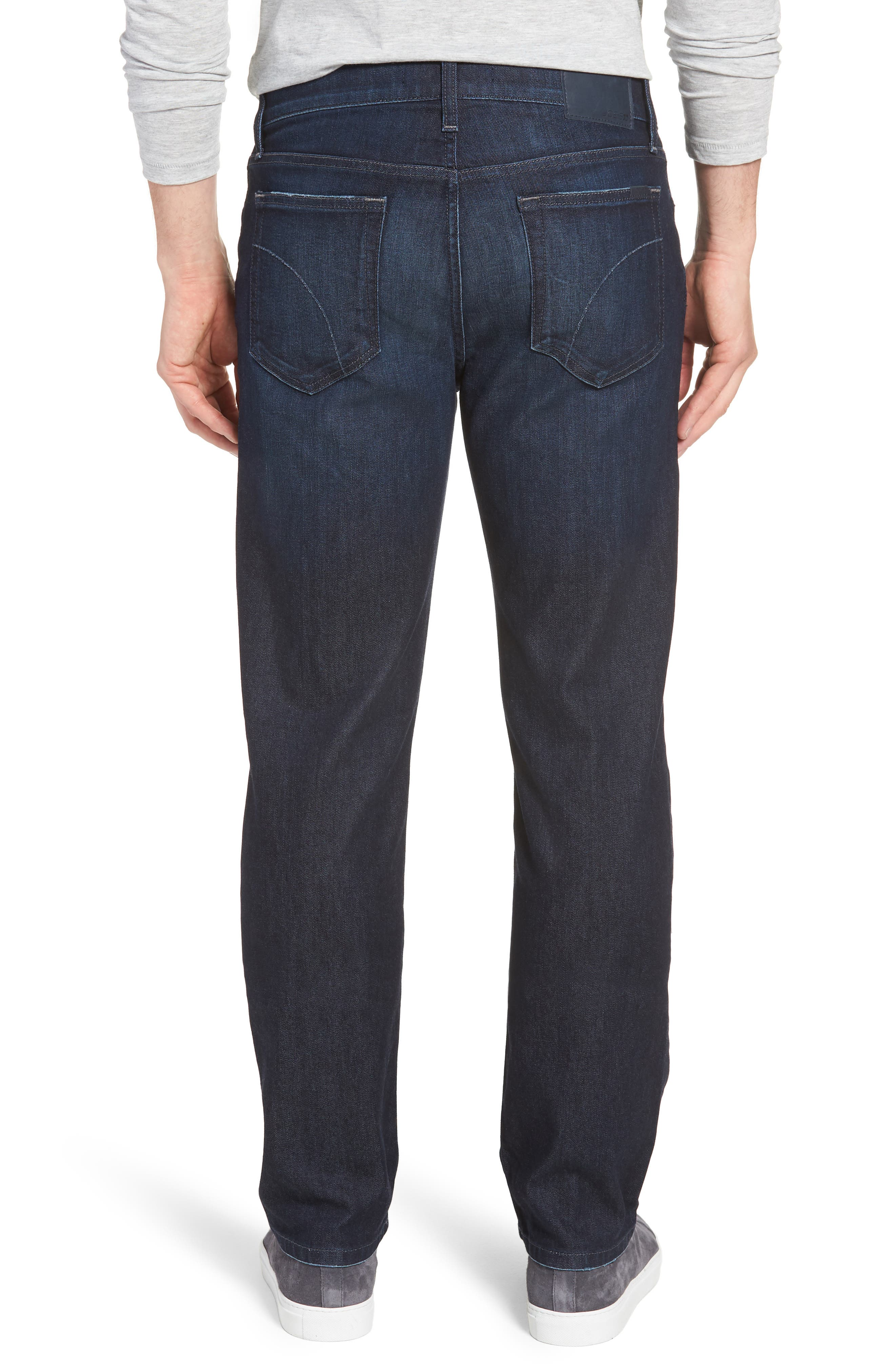 Classic Straight Fit Jeans,                             Alternate thumbnail 2, color,                             LUCAN