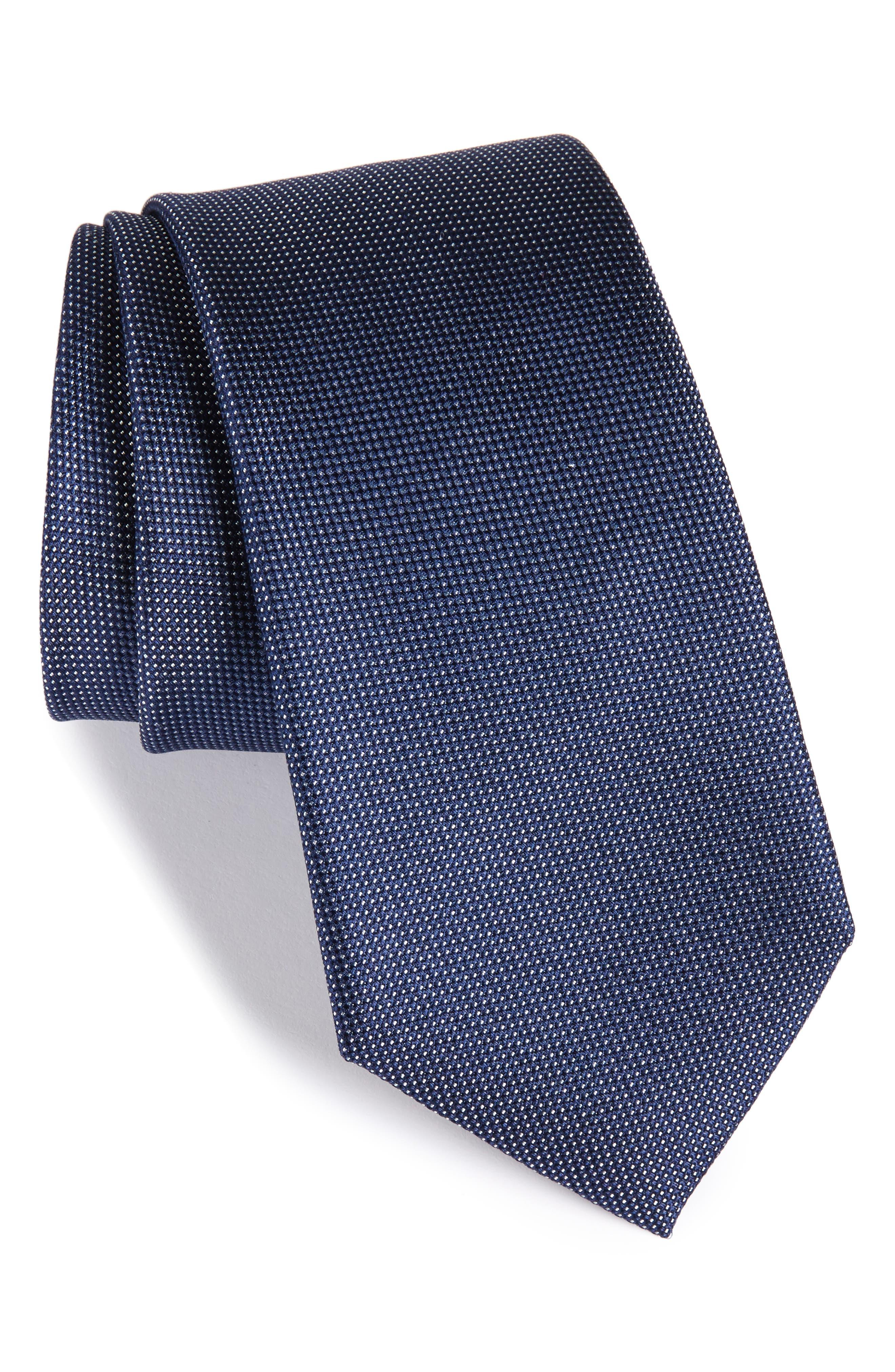 Rawson Solid Silk Tie,                             Main thumbnail 3, color,