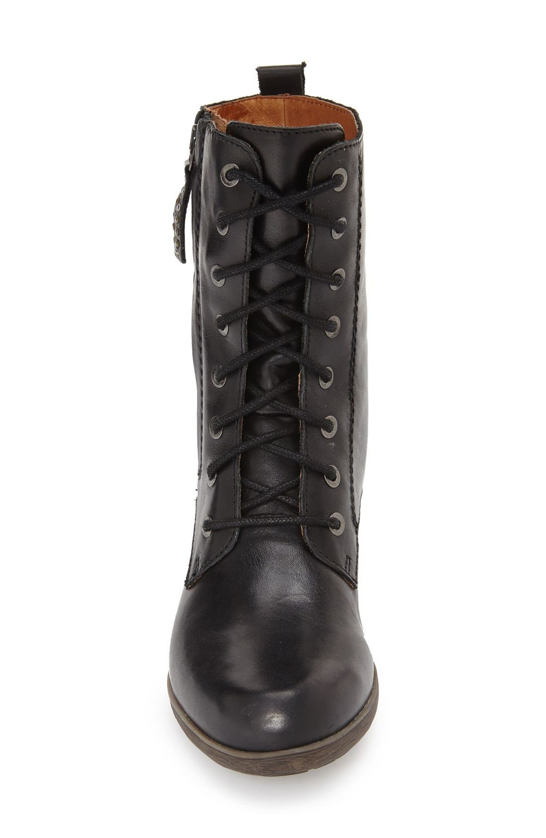 'Rotterdam' Lace-Up Boot,                             Alternate thumbnail 8, color,