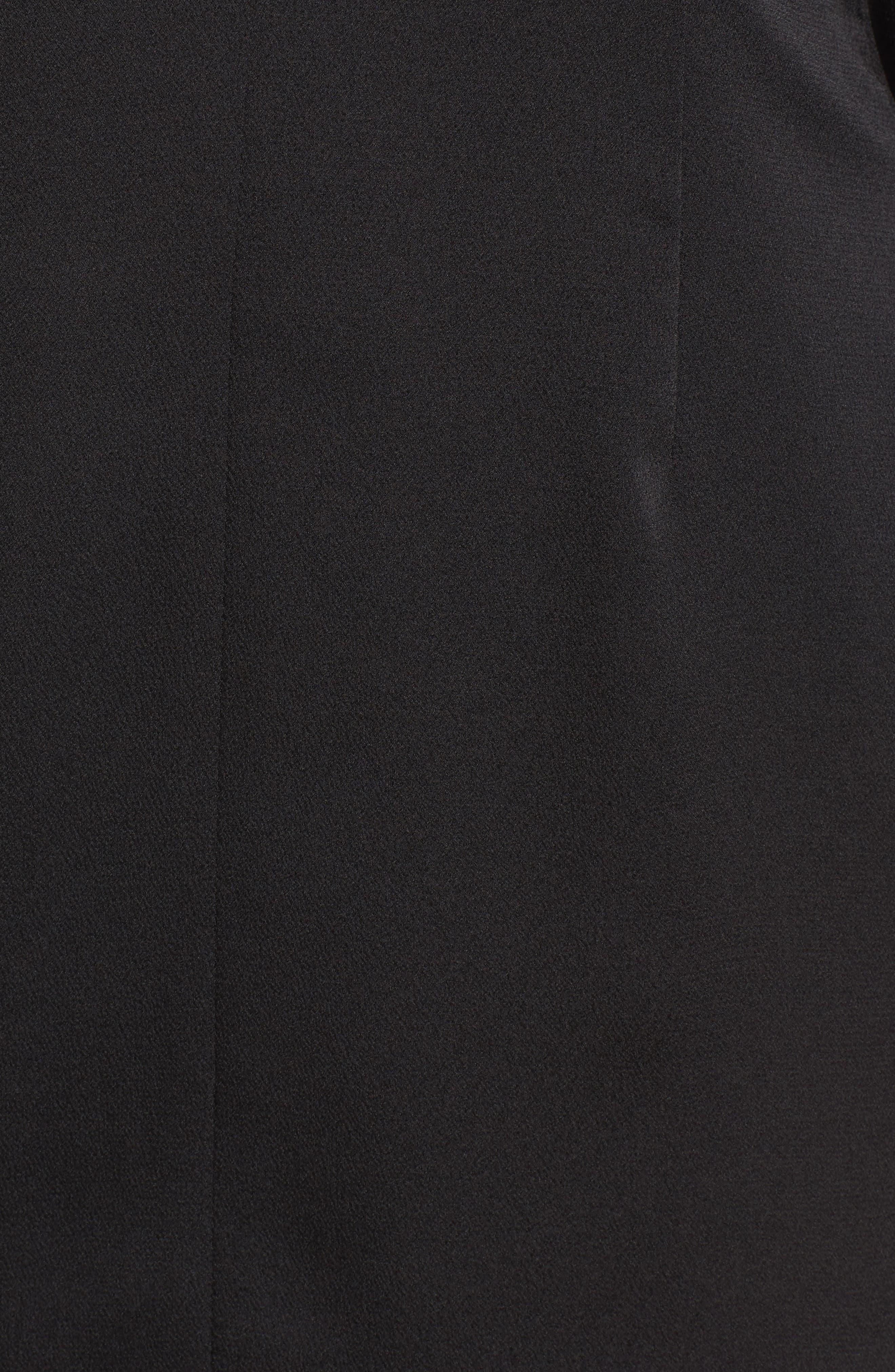Raindrops Midi Dress,                             Alternate thumbnail 5, color,                             001