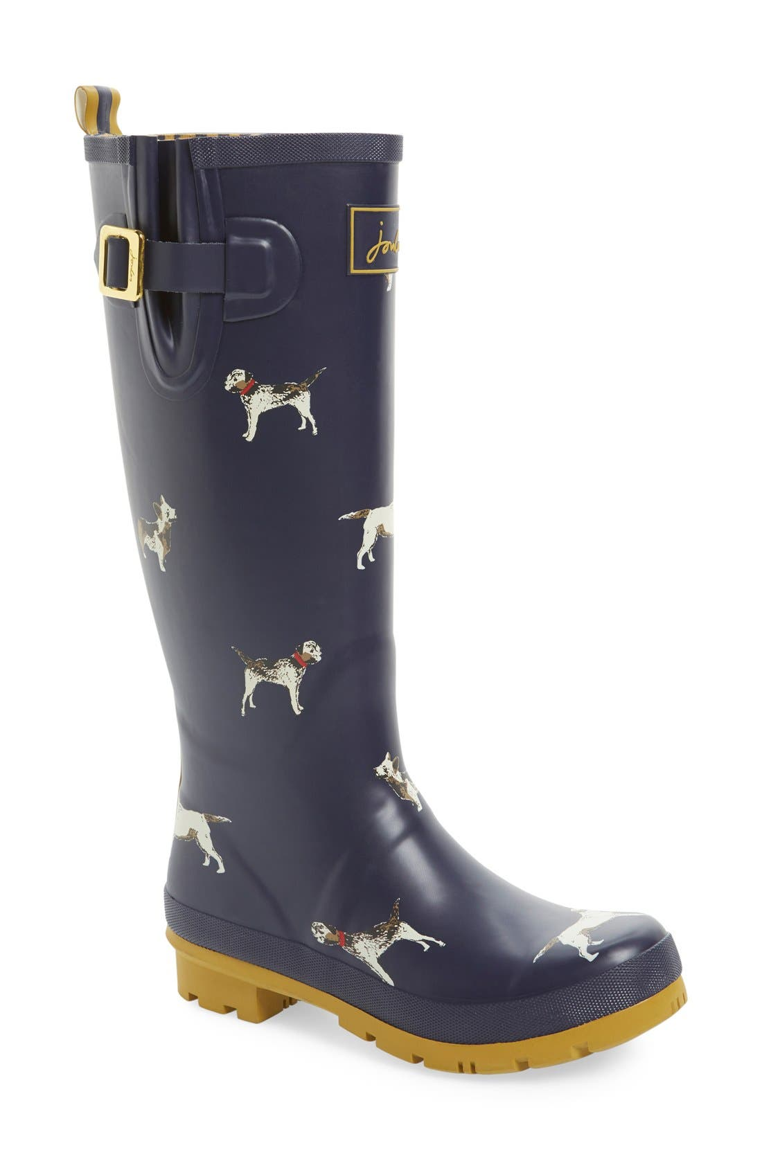 'Welly' Print Rain Boot,                             Main thumbnail 40, color,