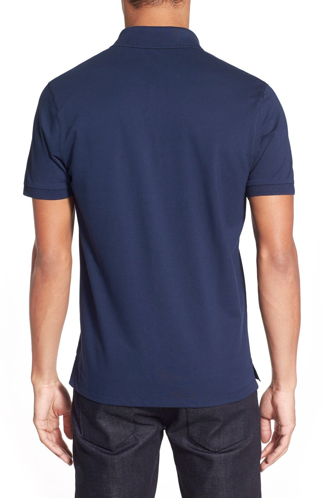 'Pallas' Regular Fit Logo Embroidered Polo Shirt,                             Alternate thumbnail 26, color,