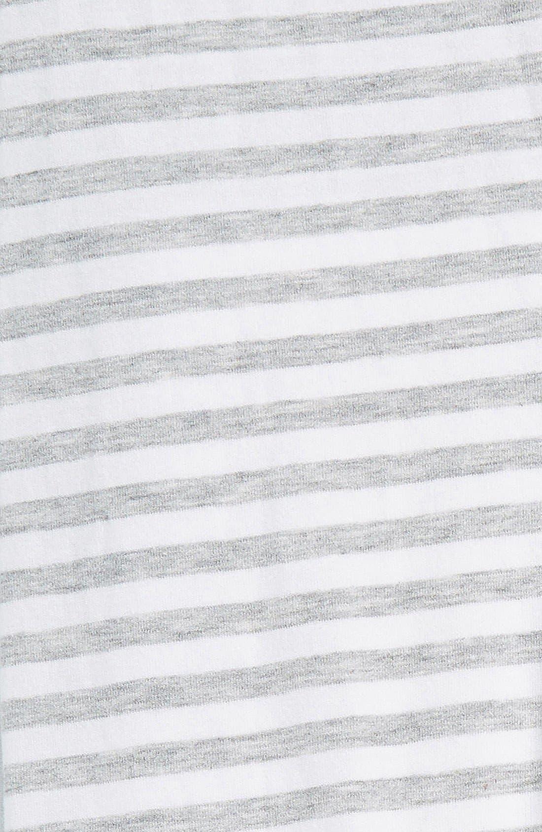 'Core' Striped Leggings,                             Alternate thumbnail 19, color,
