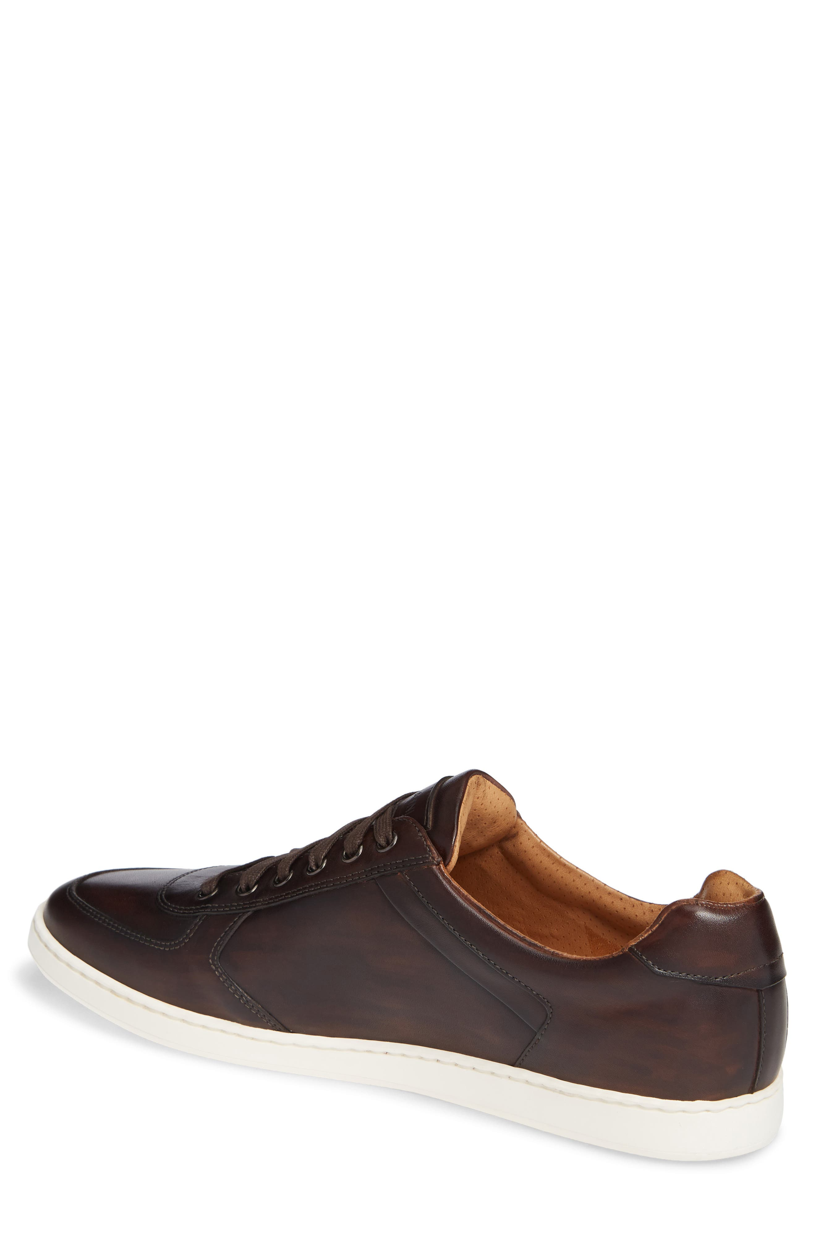 Echo Sneaker,                             Alternate thumbnail 2, color,                             BROWN LEATHER