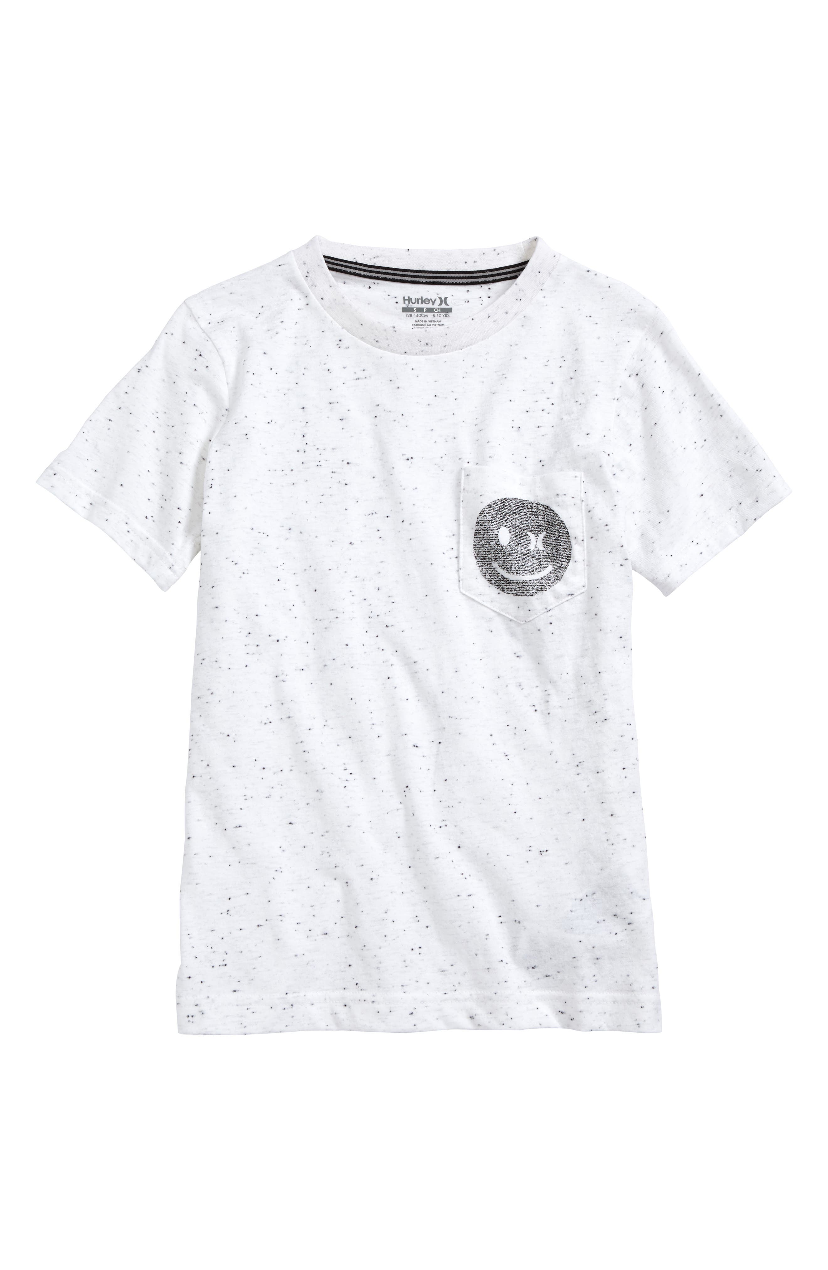 Say What Graphic Pocket T-Shirt,                         Main,                         color, 100