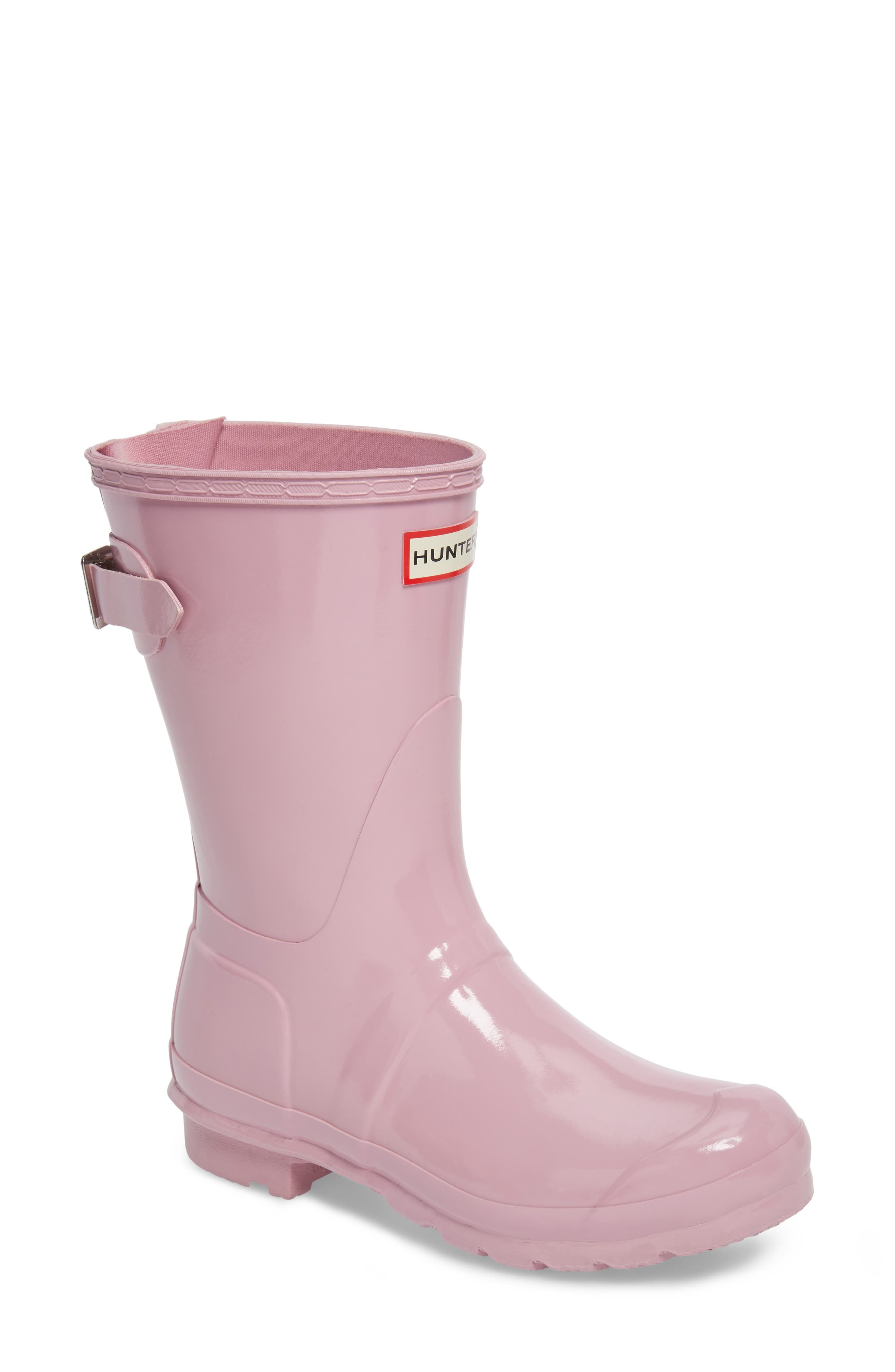Original Short Back Adjustable Rain Boot,                             Main thumbnail 3, color,