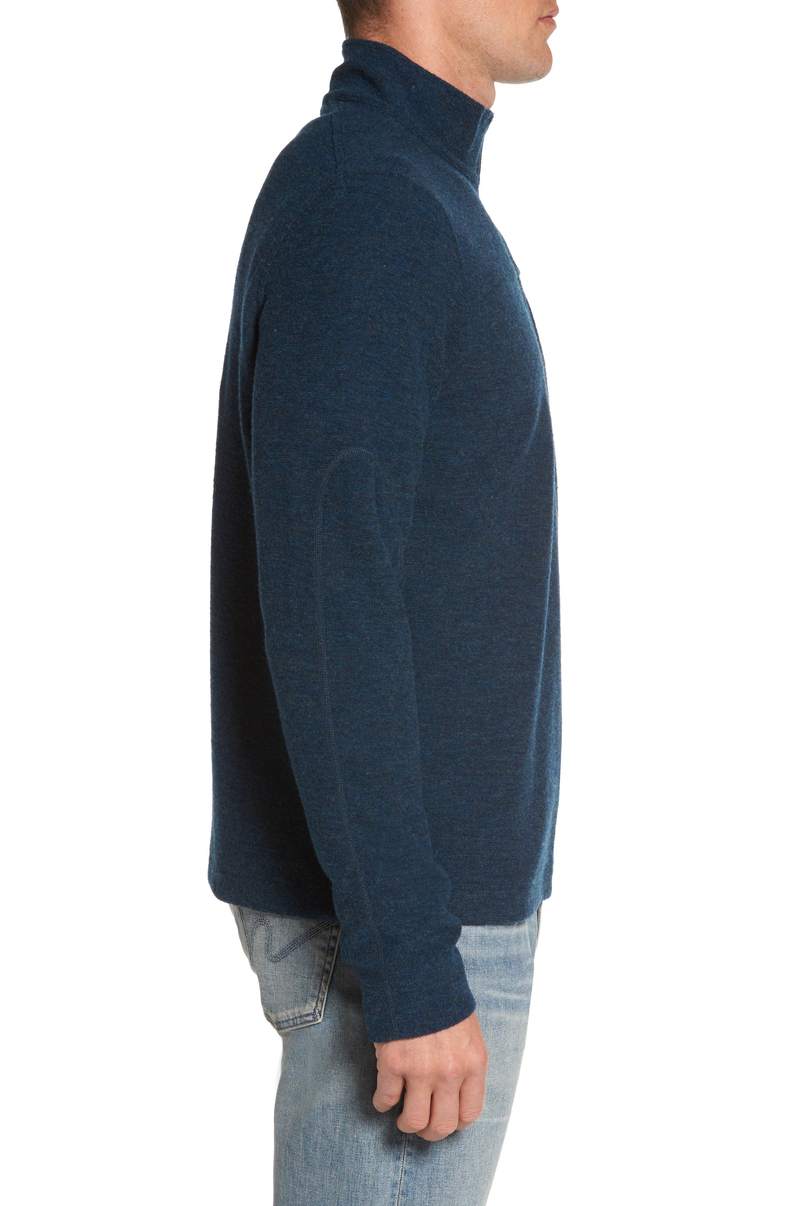 Scout Jura Merino Wool Blend Quarter Zip Pullover,                             Alternate thumbnail 14, color,