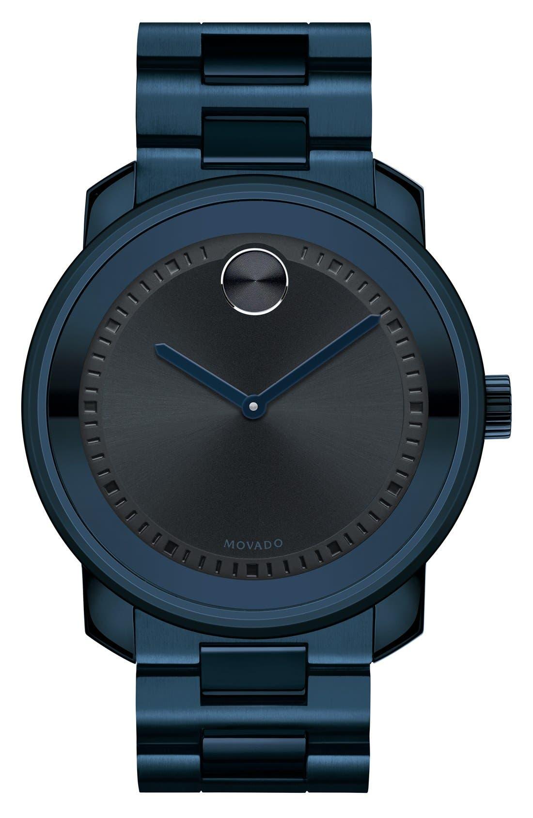 'Bold' Bracelet Watch, 44mm,                             Main thumbnail 1, color,                             400